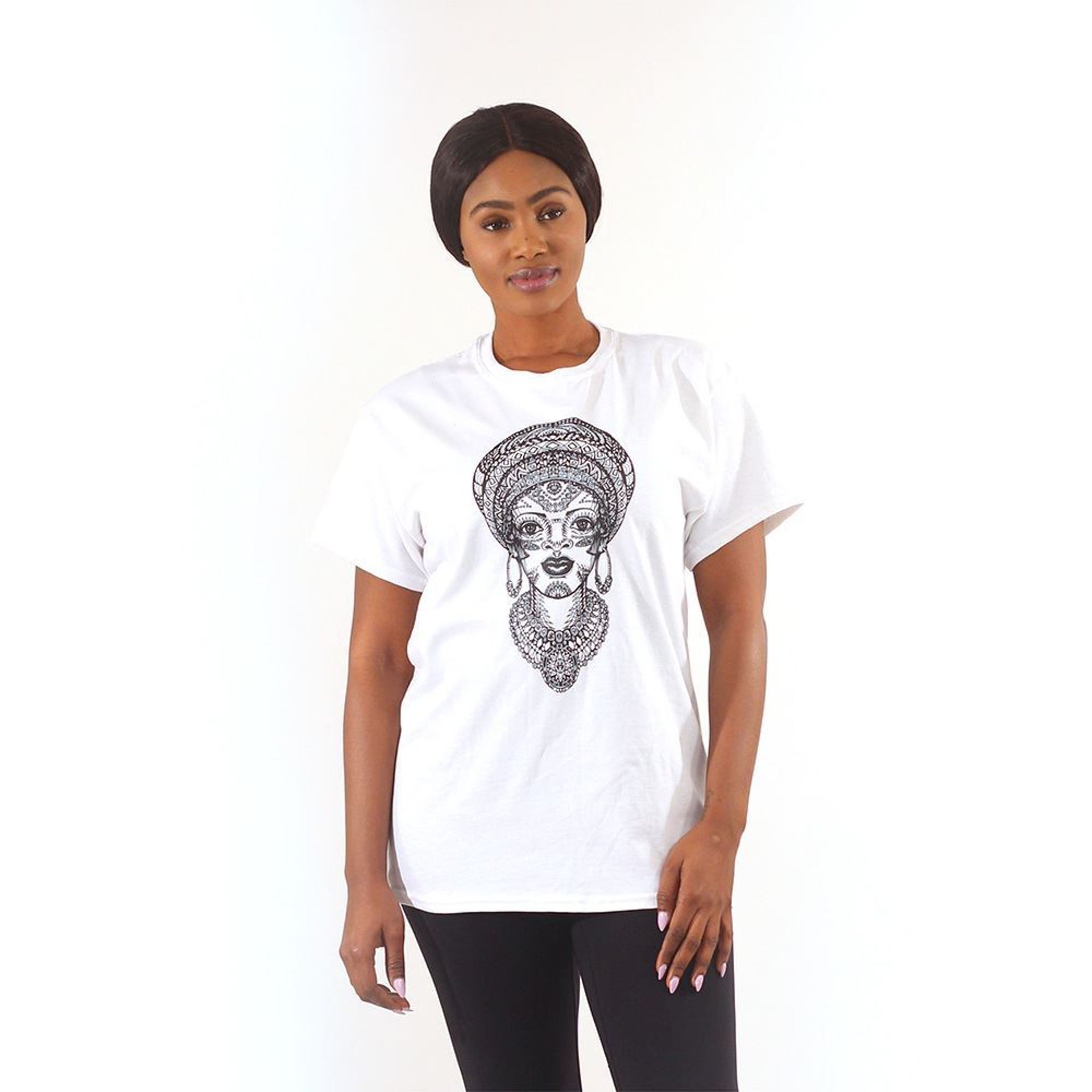 Picture of Decorative Woman T-Shirt