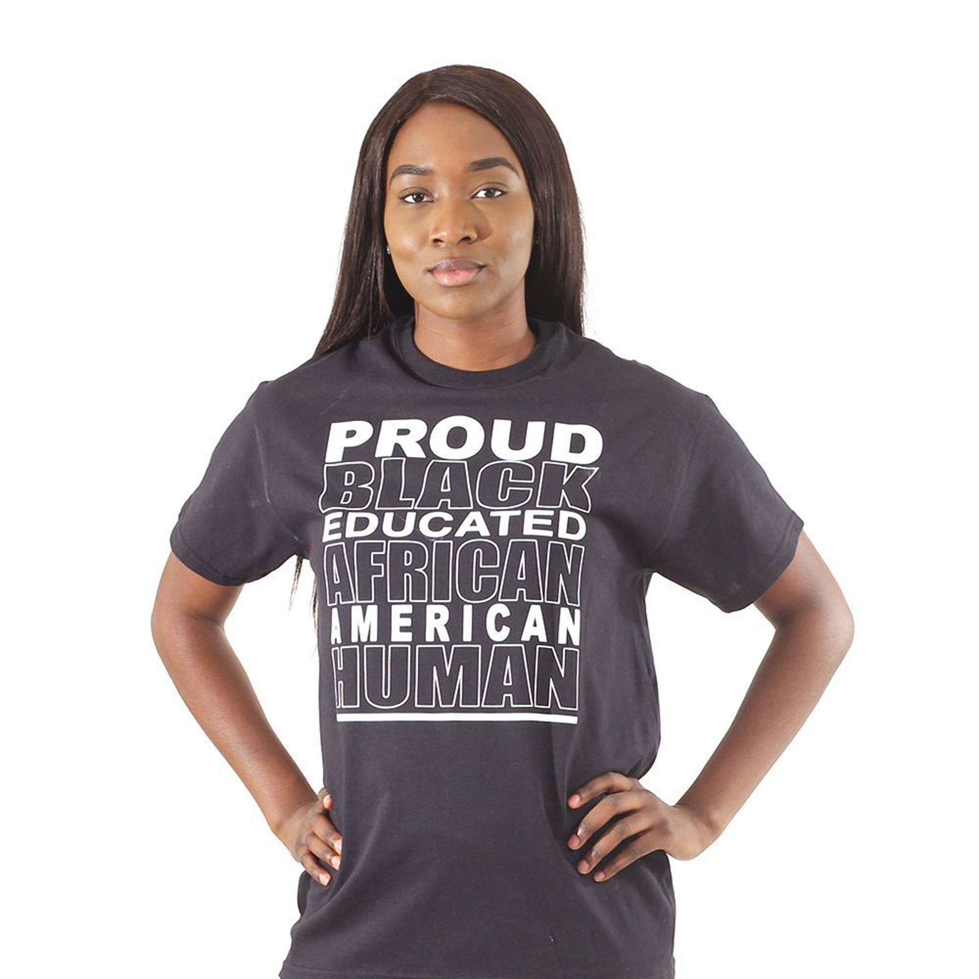 Picture of Proud Black African Human T-Shirt
