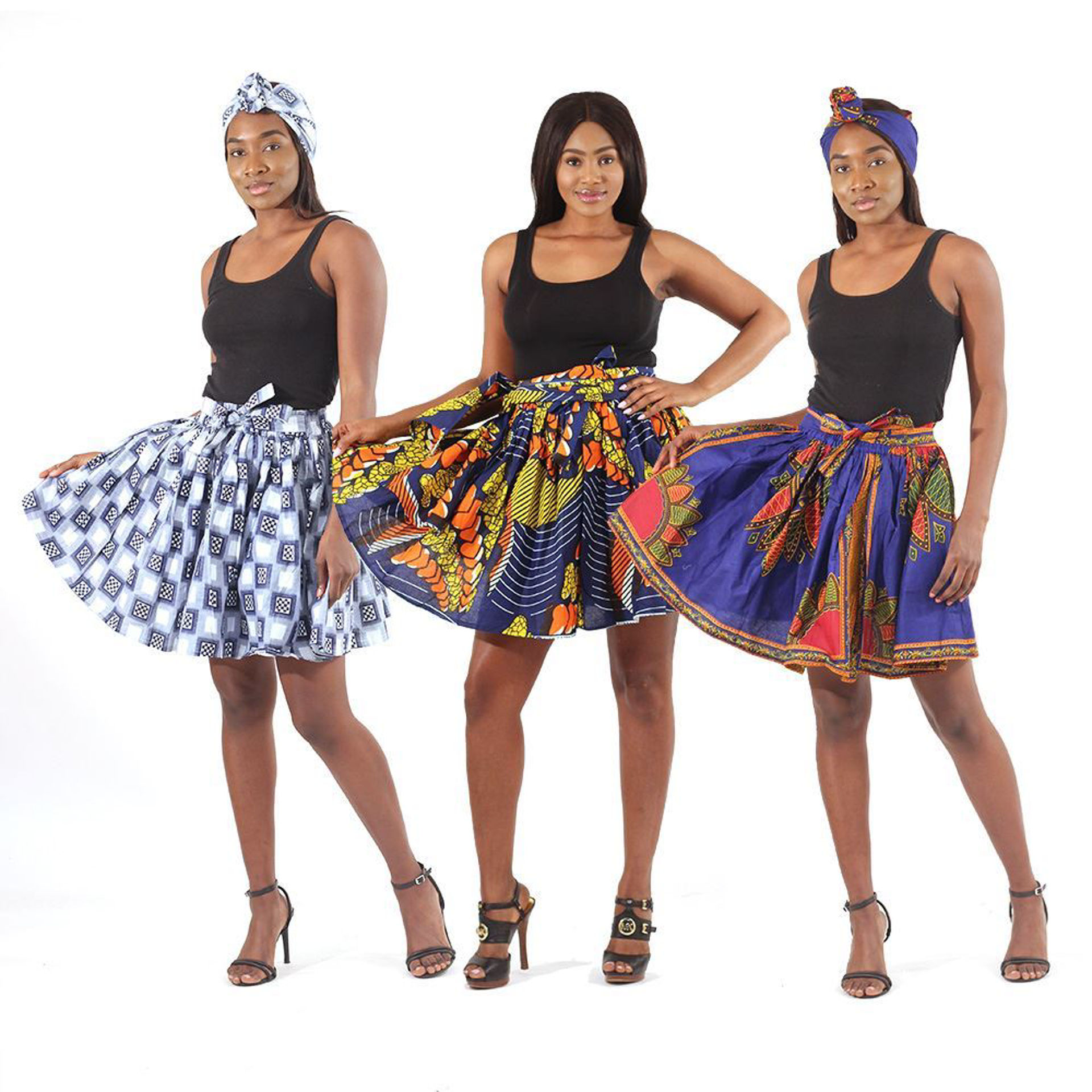 Picture of Set Of 3 ASSORTED Mini Skirts