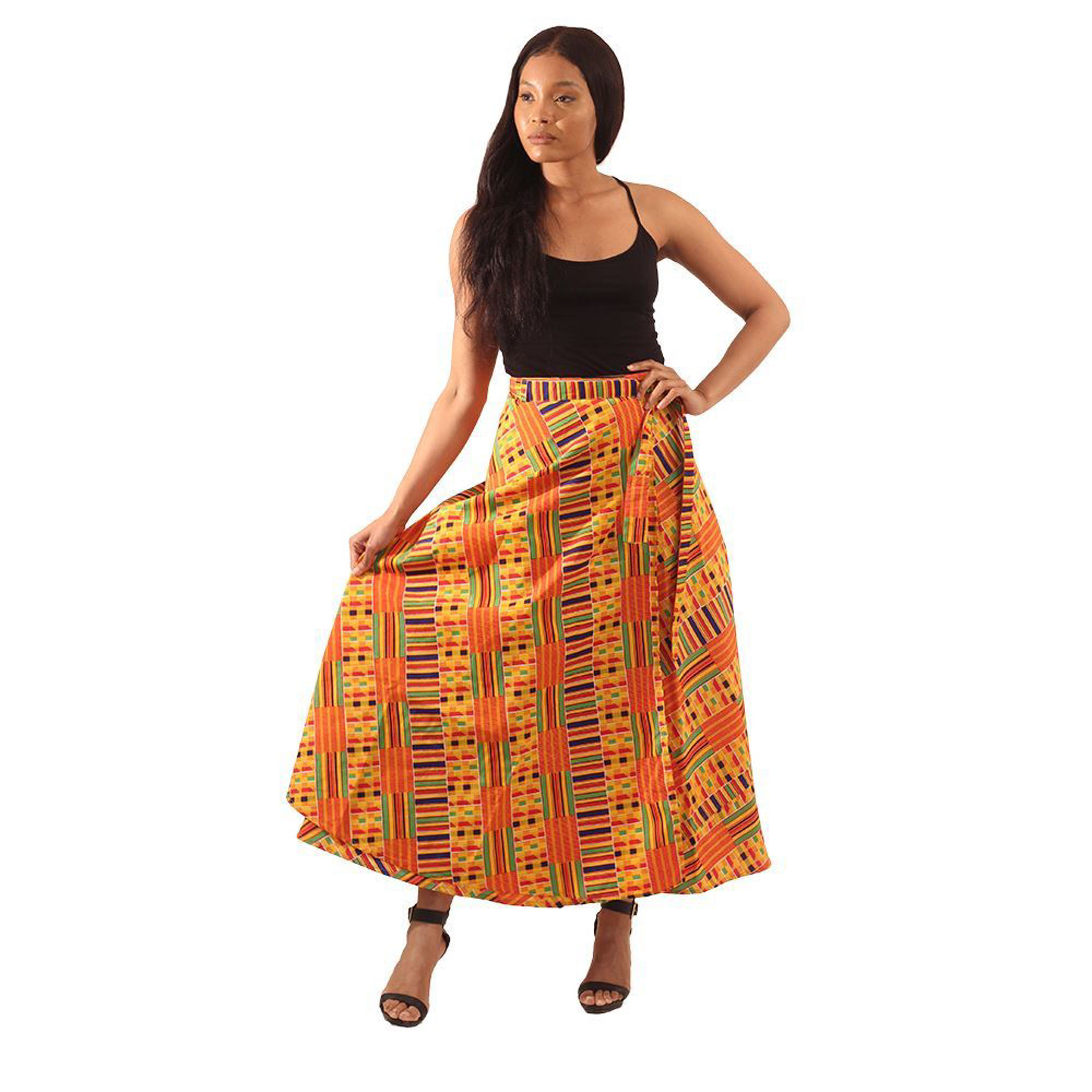Picture of Kente Wrap Skirt #1