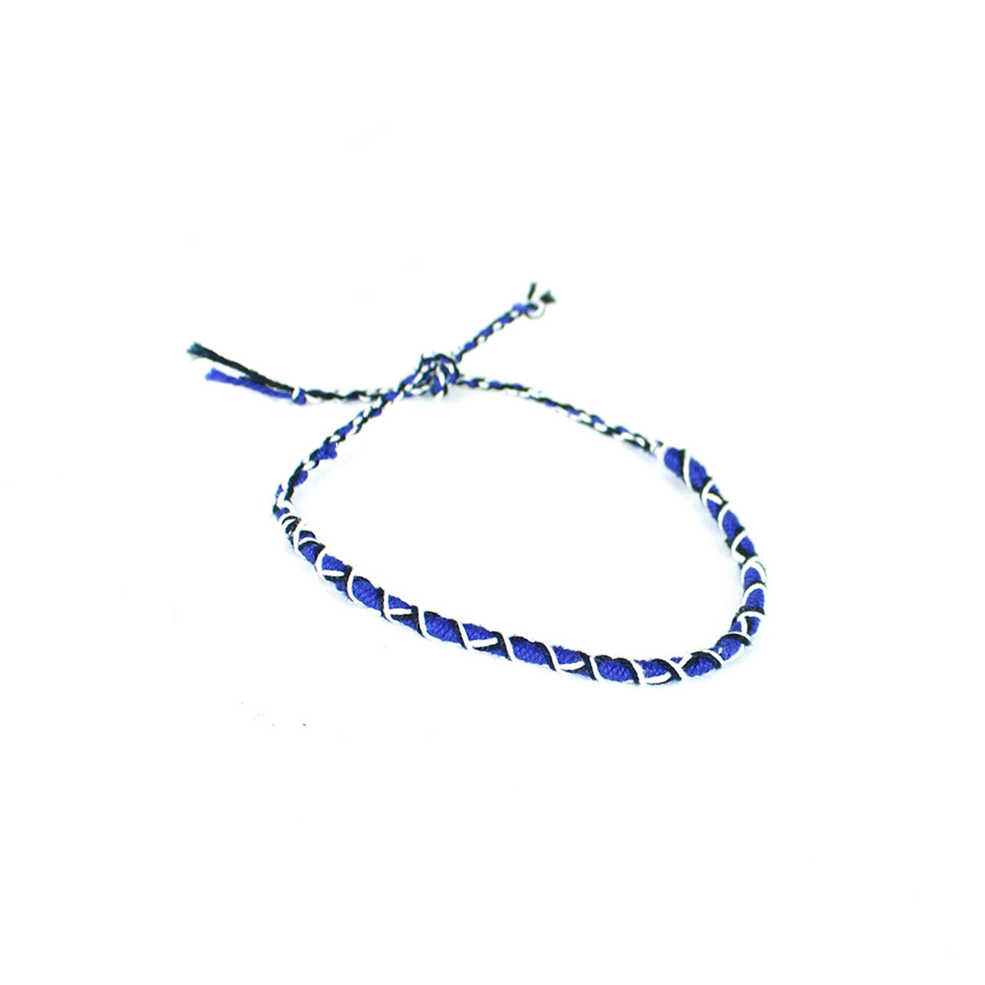 Picture of Set Of 10 String-Tie Bracelets