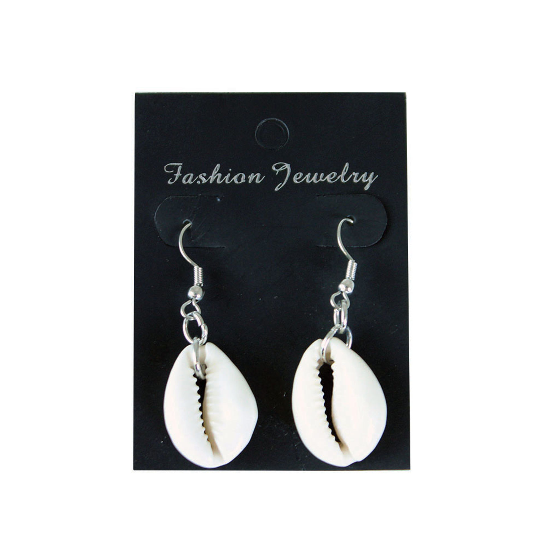 Picture of Set Of 12 Cowrie Shell Earrings