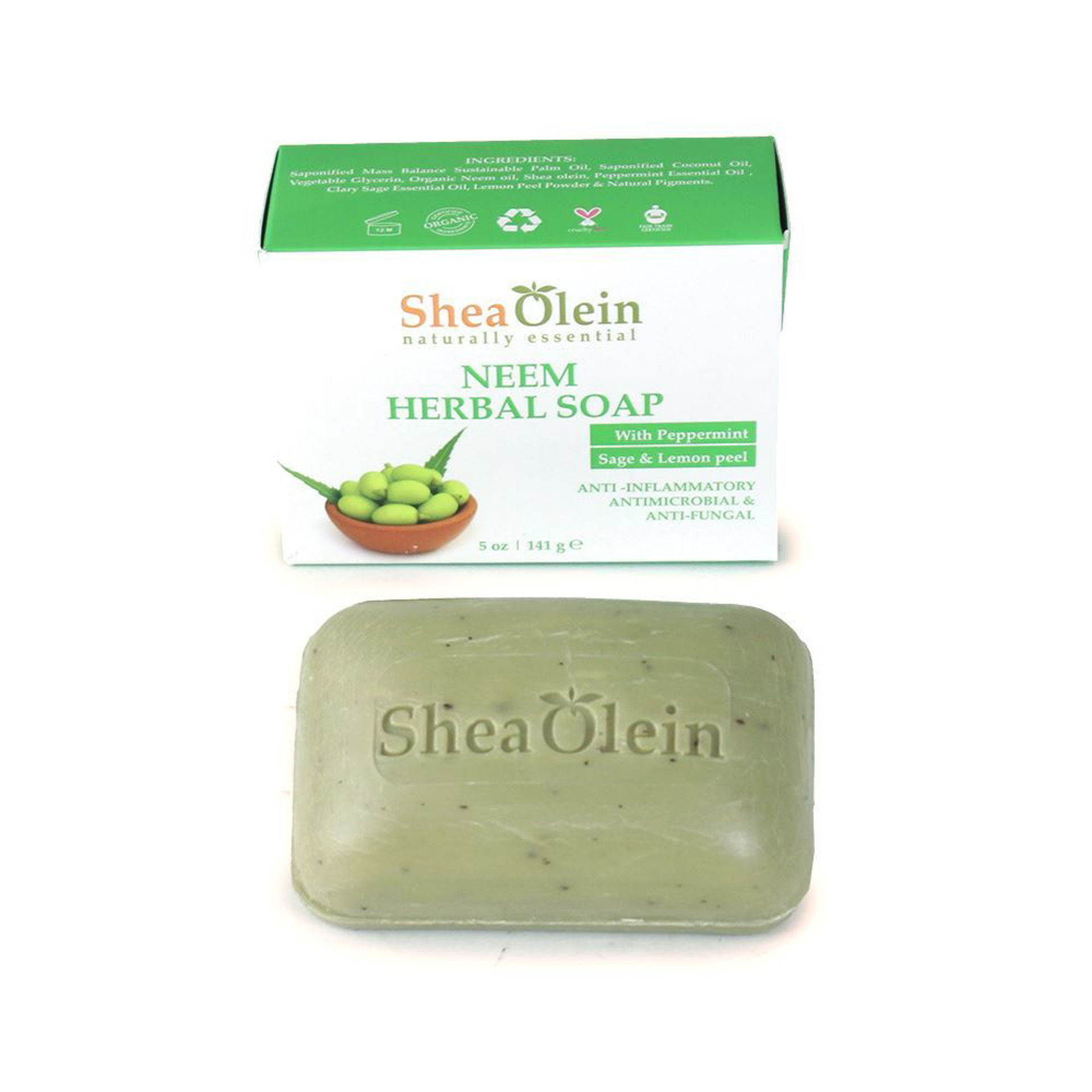 Picture of Neem Herbal Soap - 5 oz.