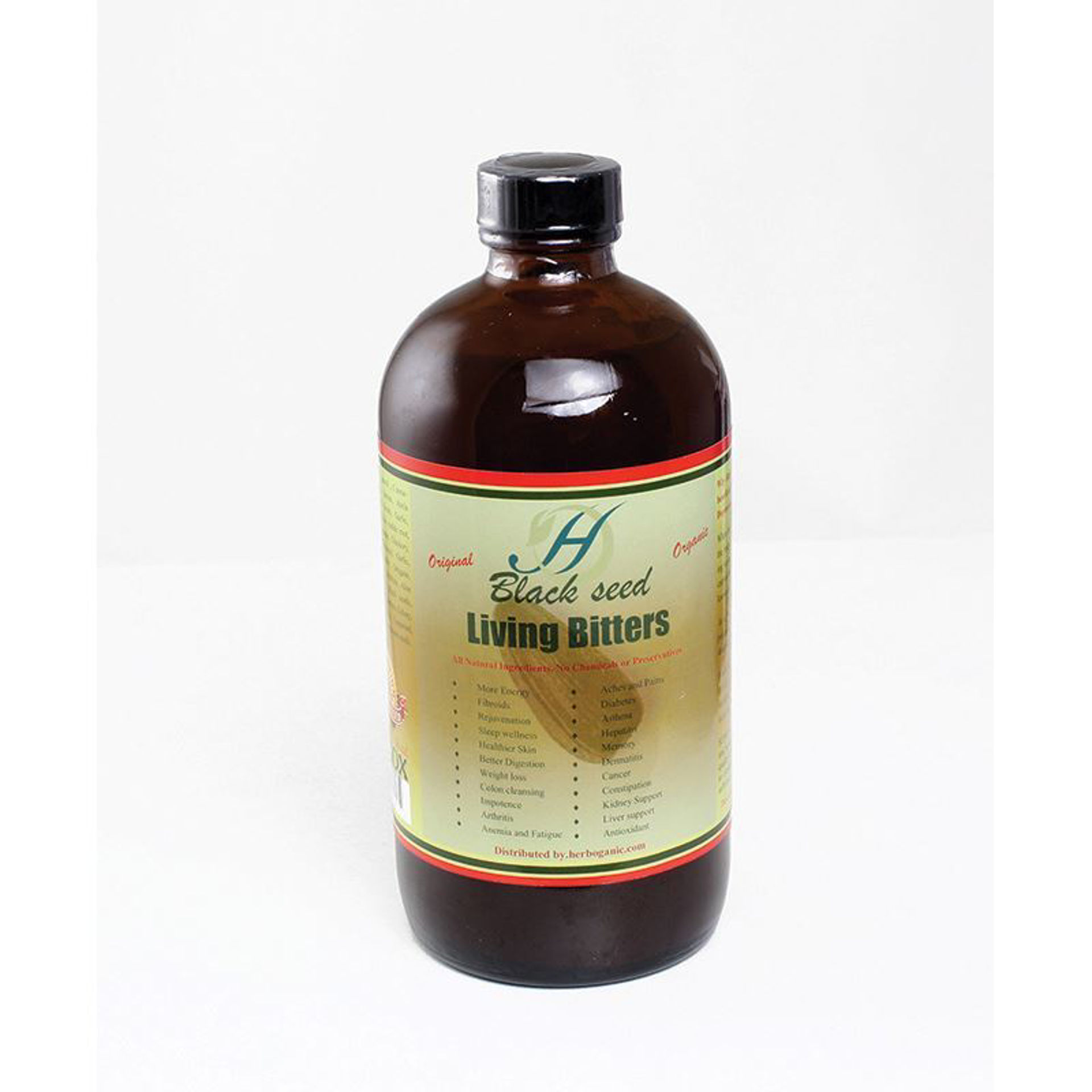 Picture of Herboganic Black Seed Bitters - 16 oz.