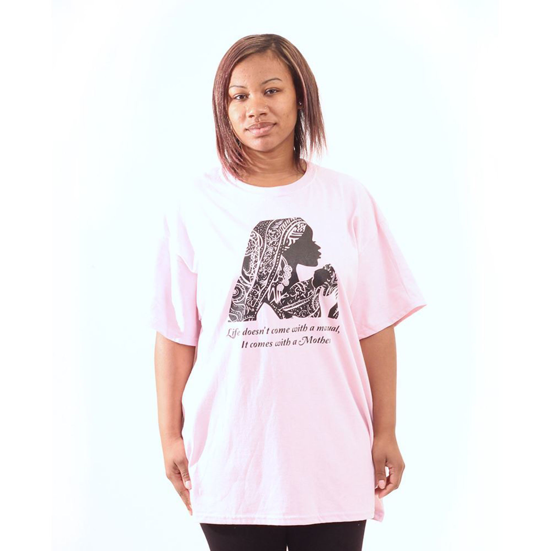 Picture of Life Comes With A Mother T-Shirt