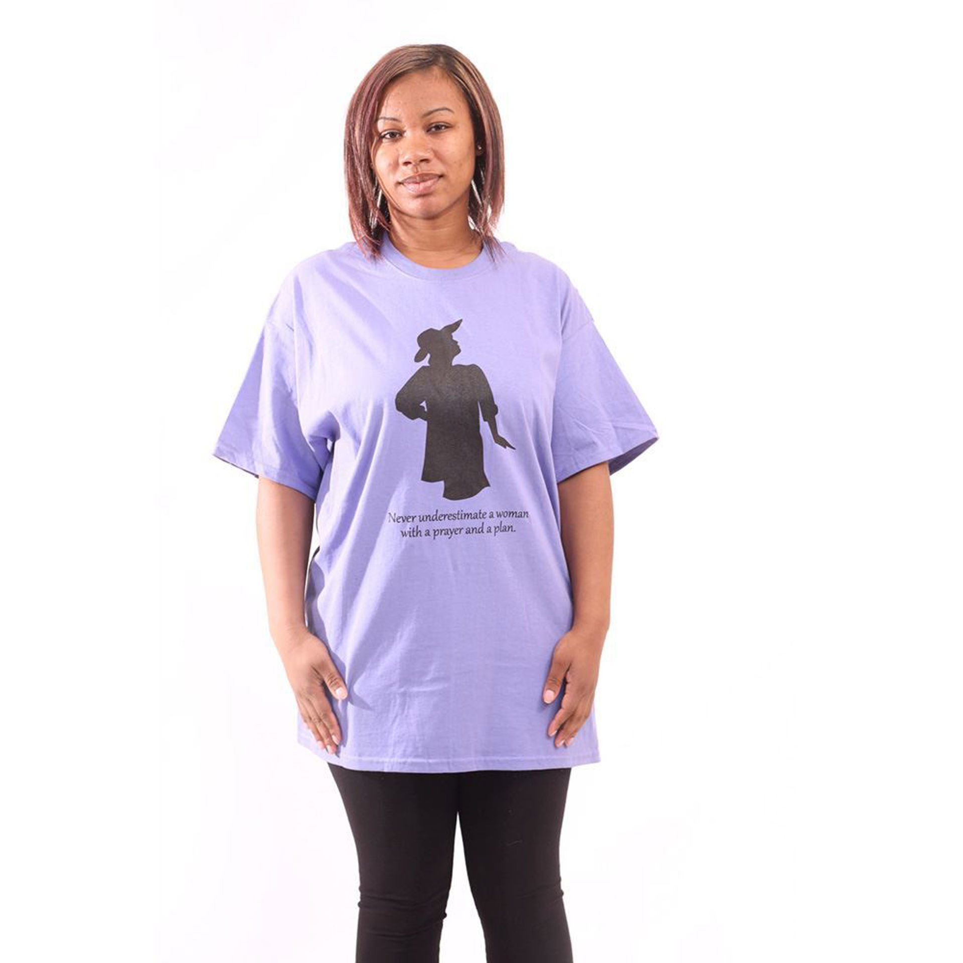 Picture of With A Prayer And A Plan T-Shirt