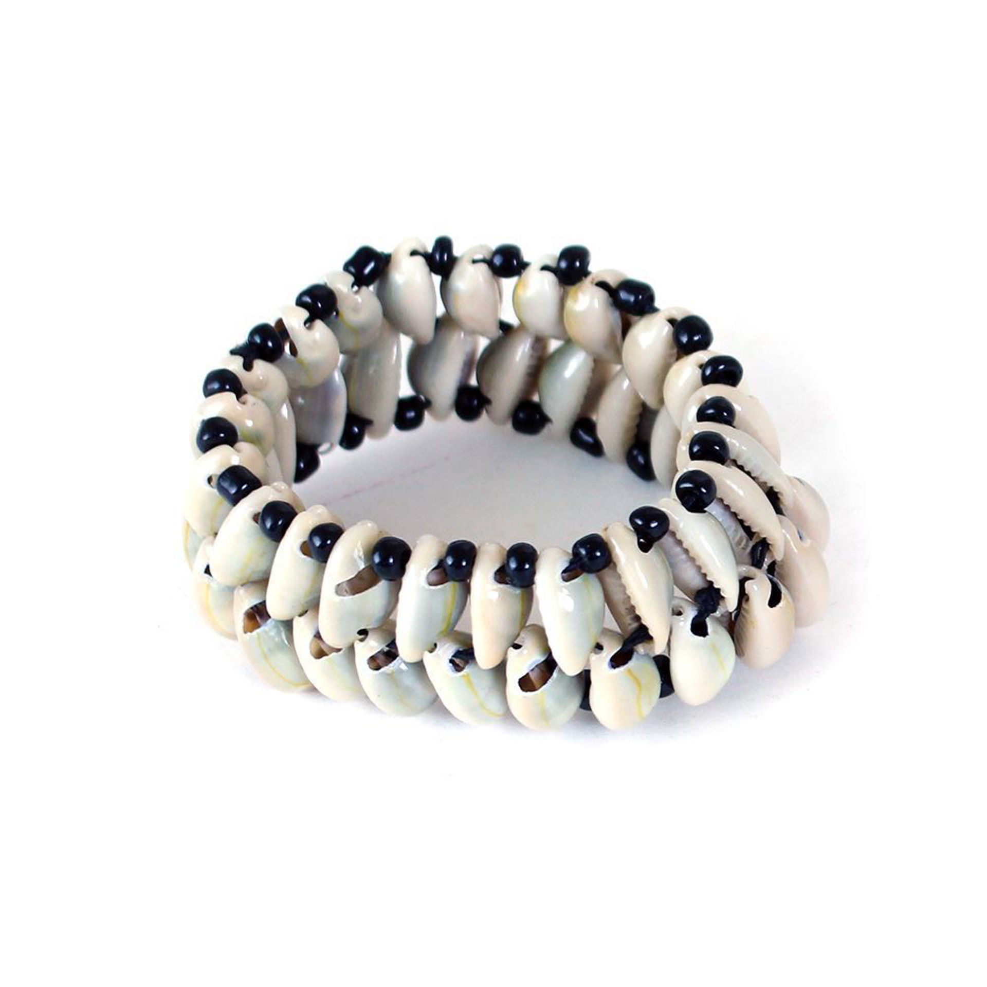 Picture of Double-Row Cowrie Shell Bracelet