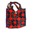 Picture of African Print Handbag - Red & Blue