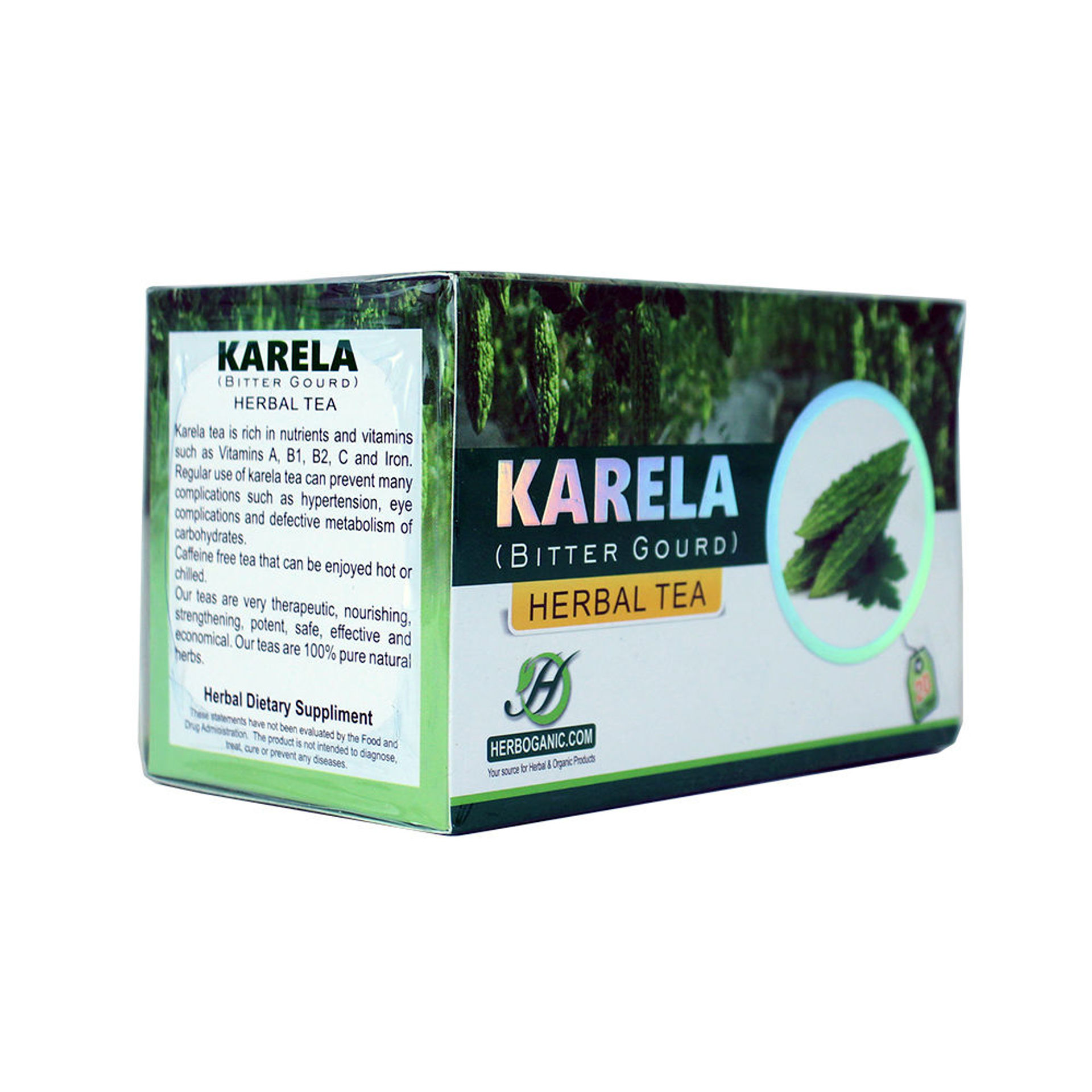 Picture of Karela Herbal Tea - 20 Bags