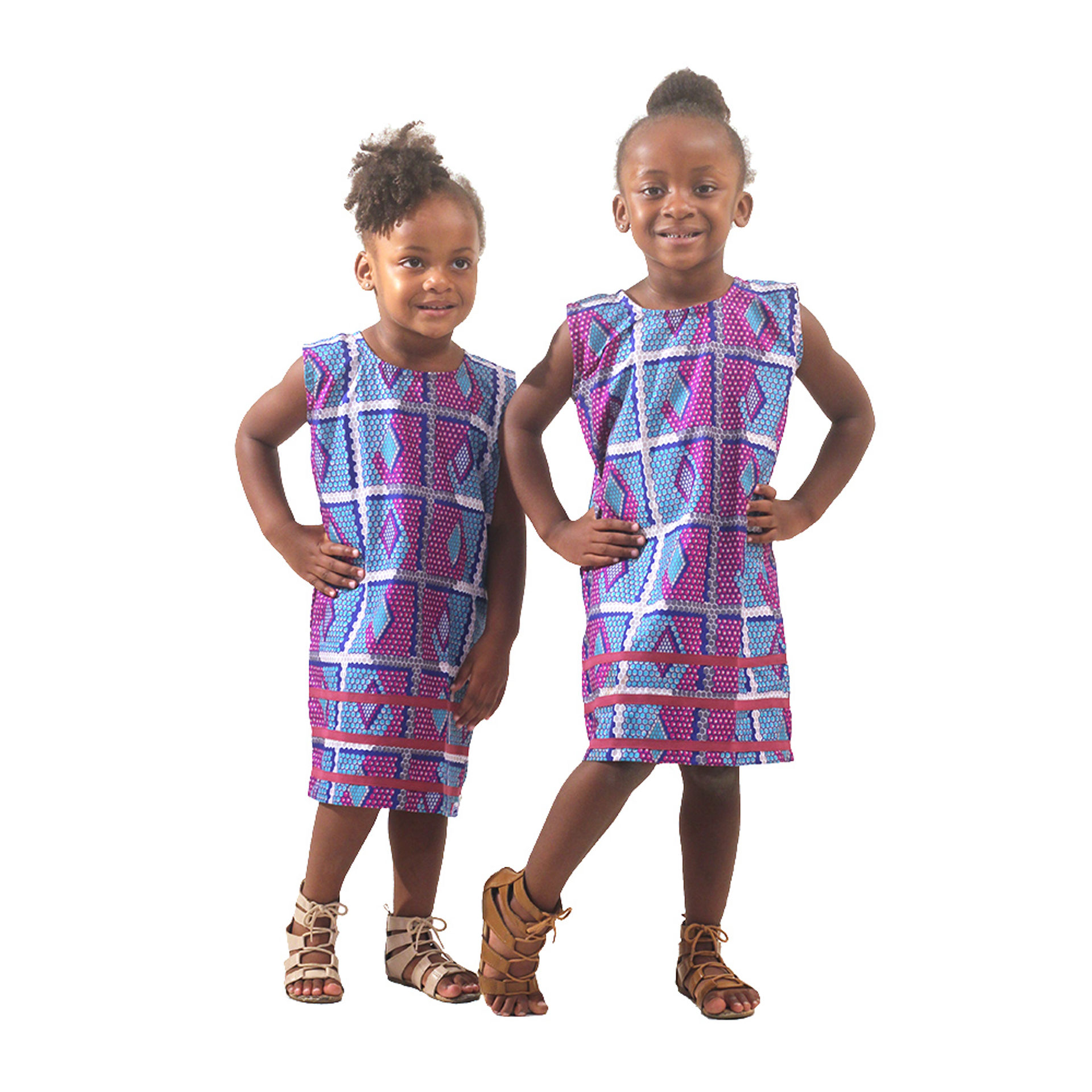 Picture of African Print Children's Dress