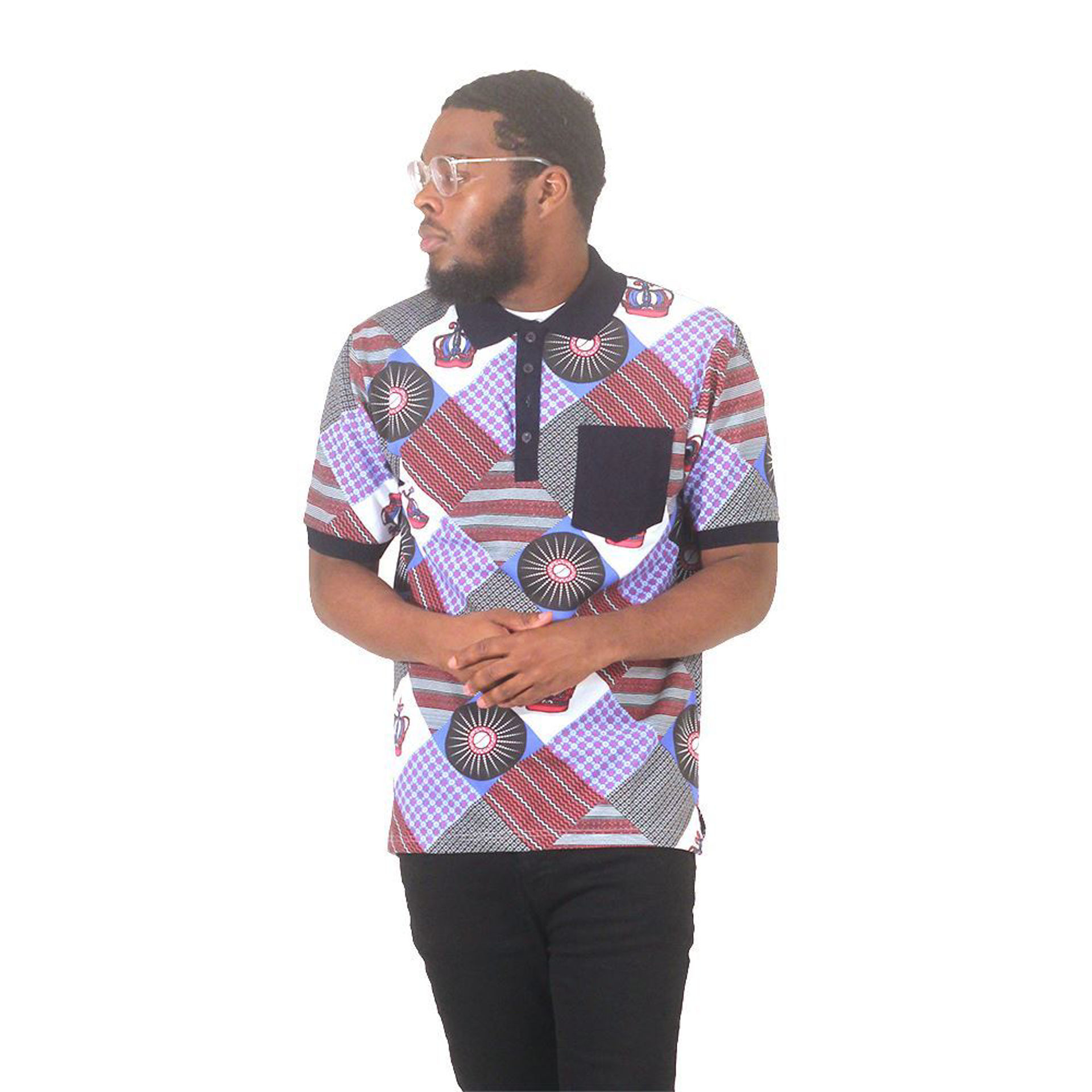 Picture of Afrocentric Polo Shirt
