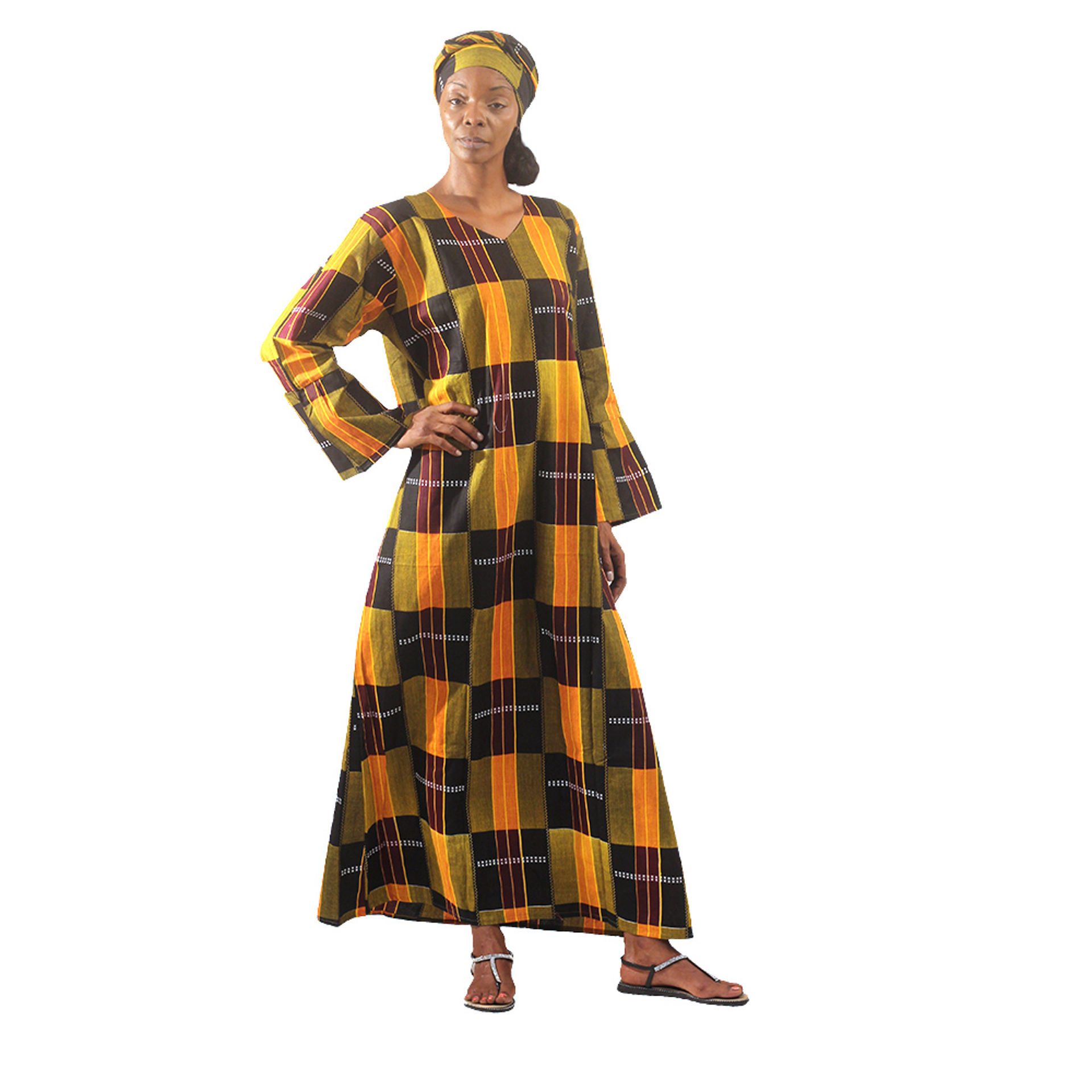 Picture of Kente #3 Dress