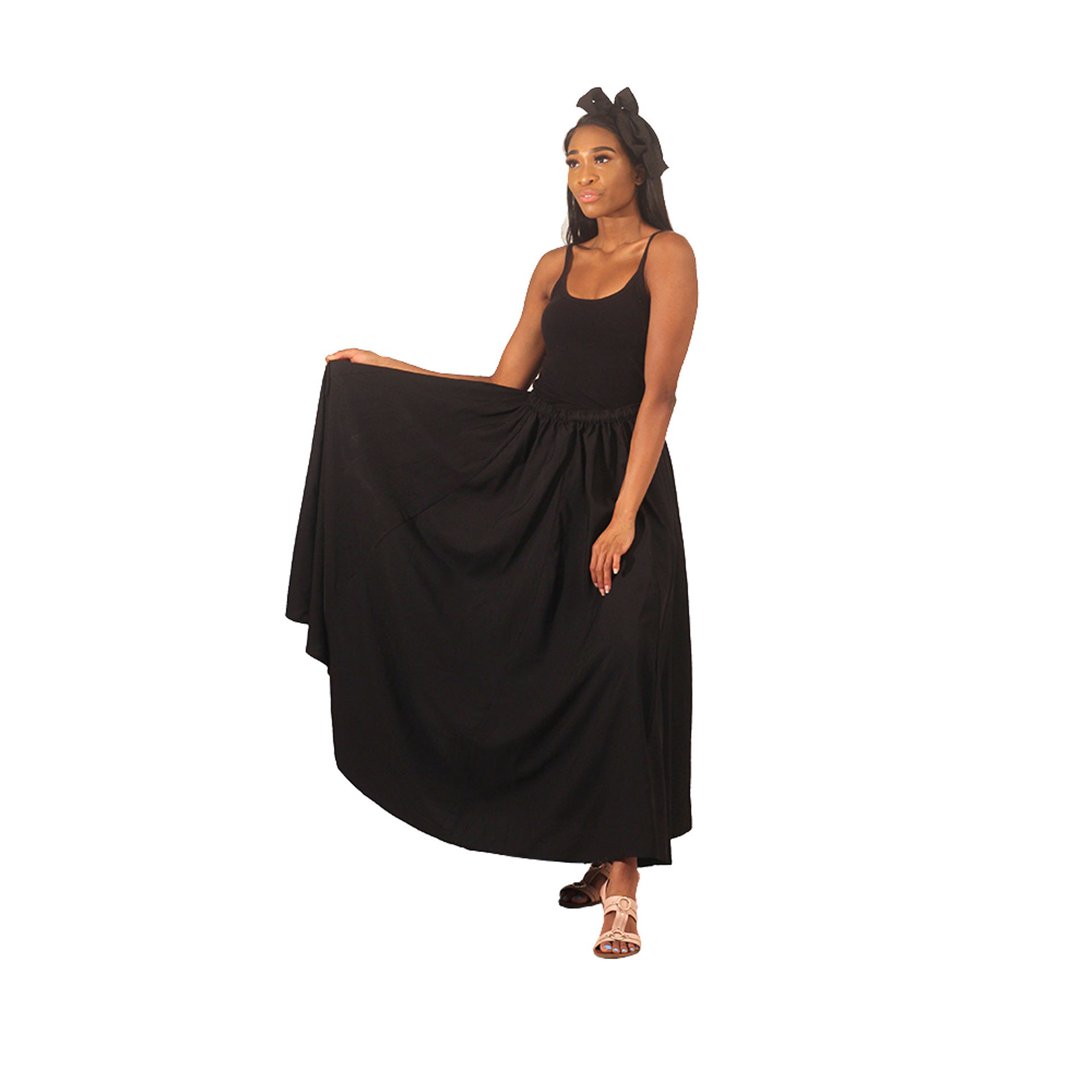Picture of Long Skirt - Black