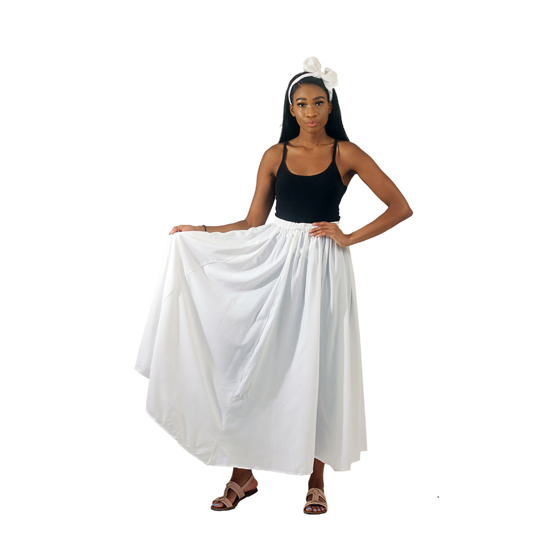 Picture of Long Skirt - White