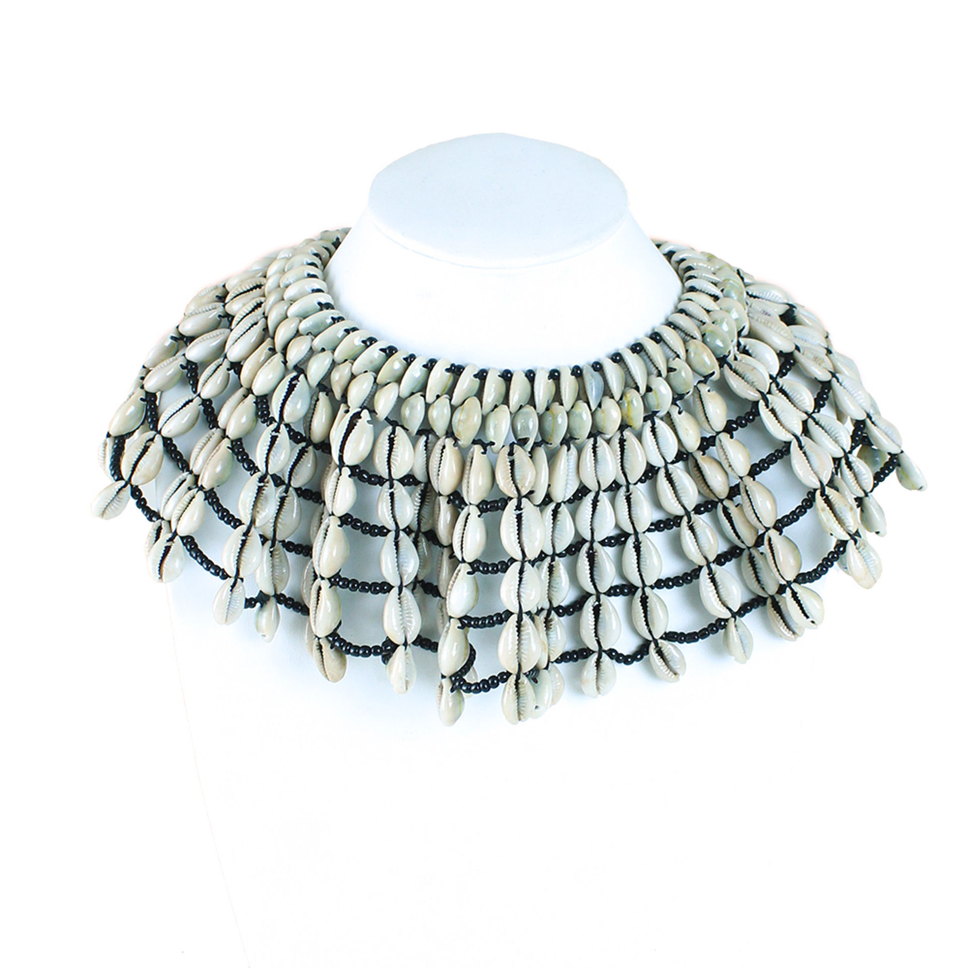 Picture of Deluxe African Cowrie Shell Necklace