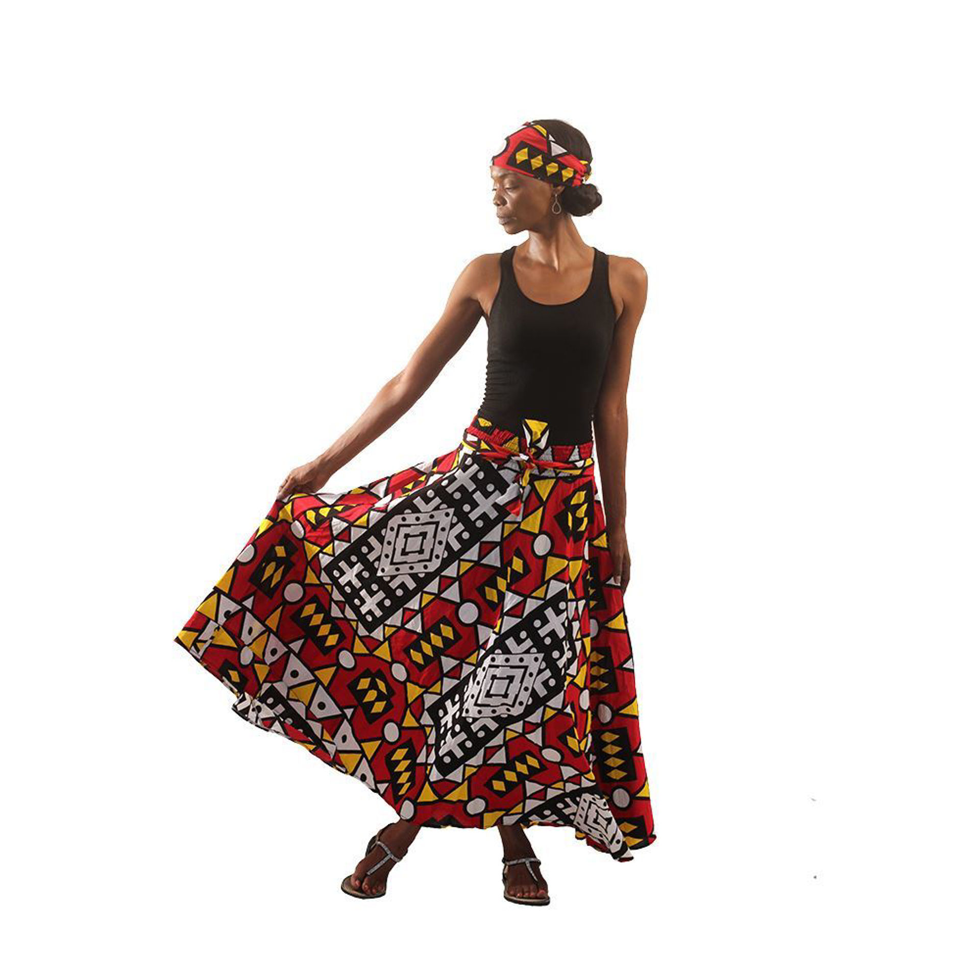 Picture of Colors Of Uganda Skirt