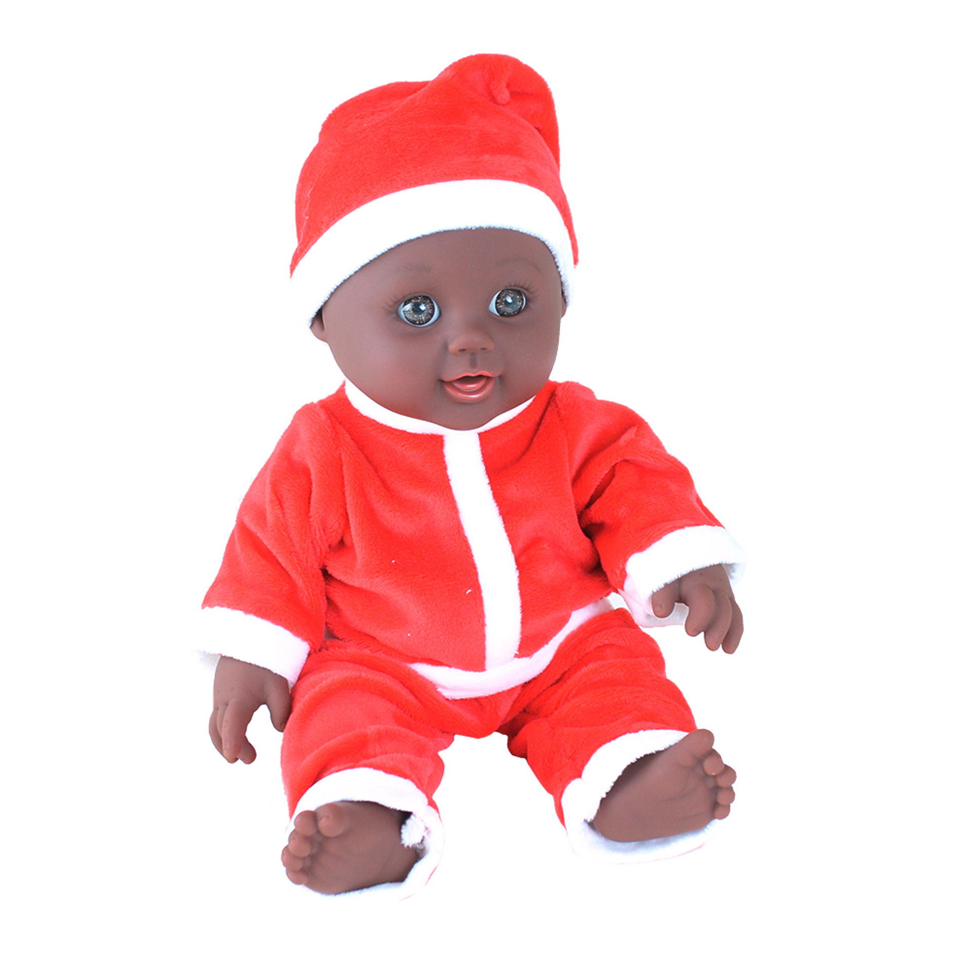 Picture of Santa Suit Baby Doll - Boy