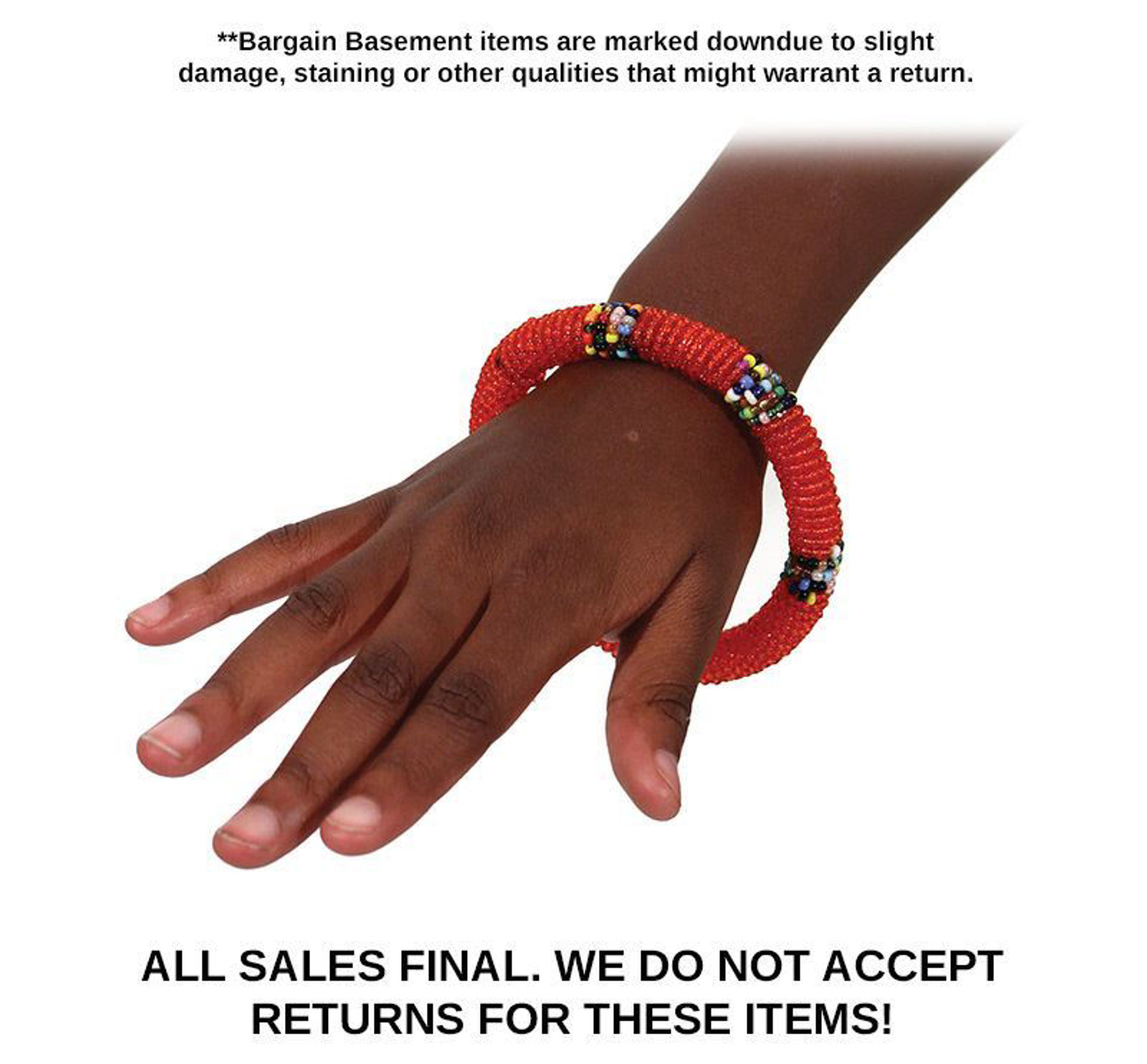Picture of Maasai Beaded Bracelet - Children's Size