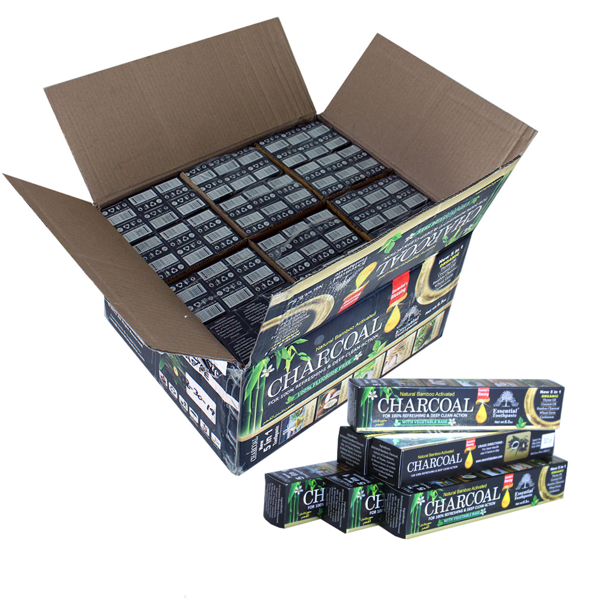 Picture of Charcoal Toothpaste - Case Of 72