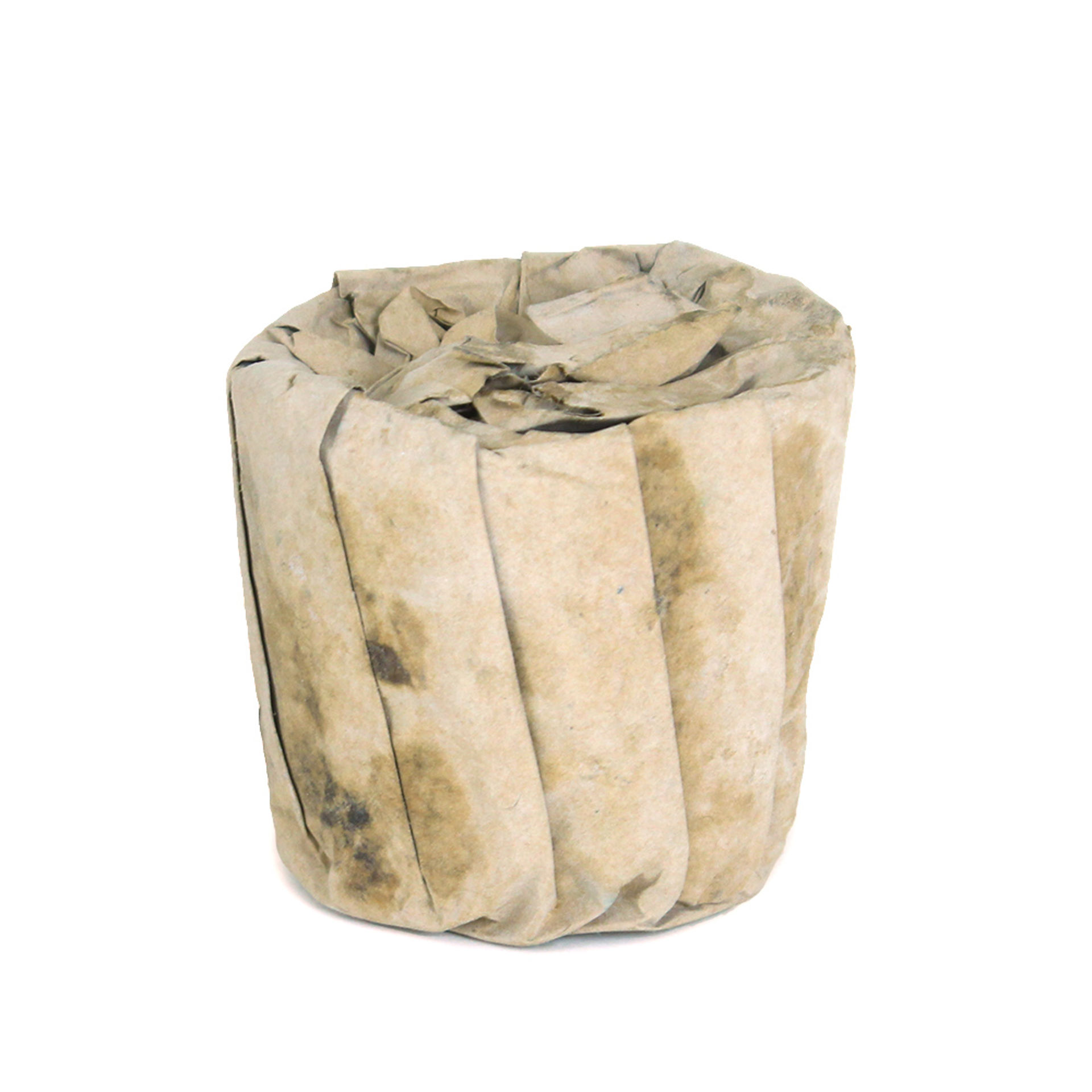 Picture of Paper Wrapped Black Soap Bar - 8 oz.