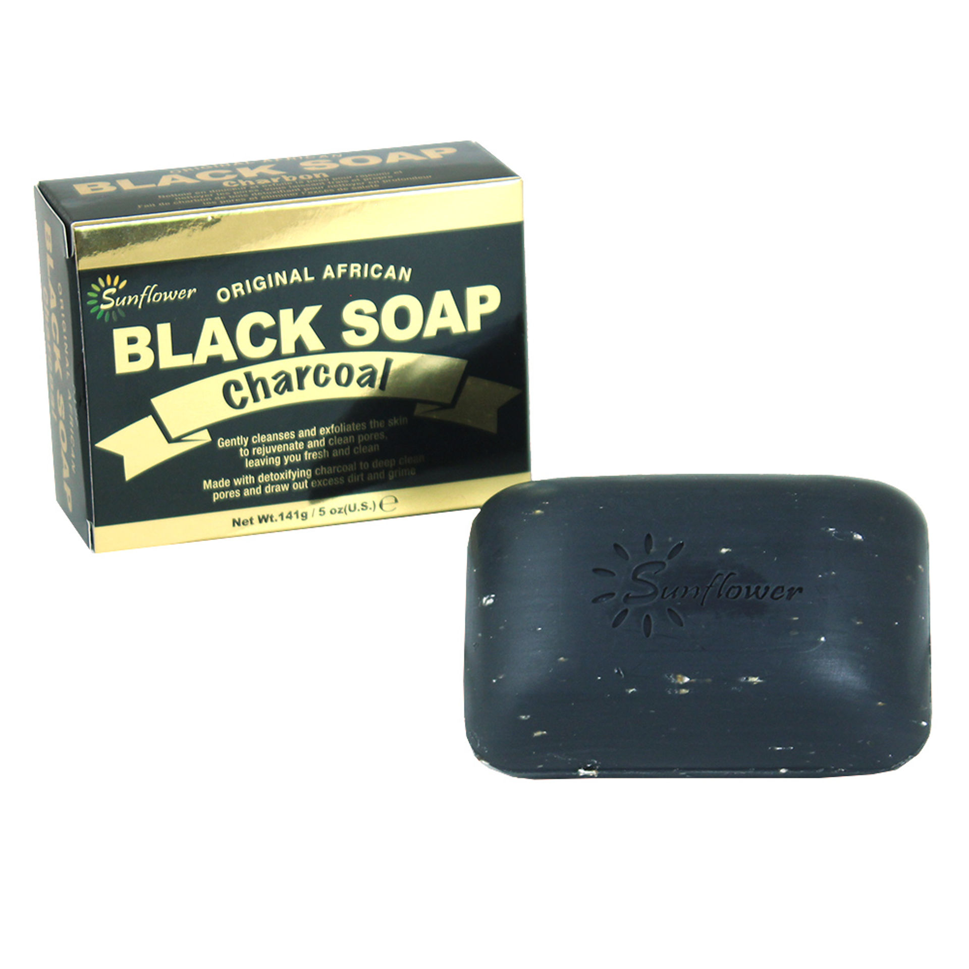Picture of Charcoal Black Soap - 5 oz.