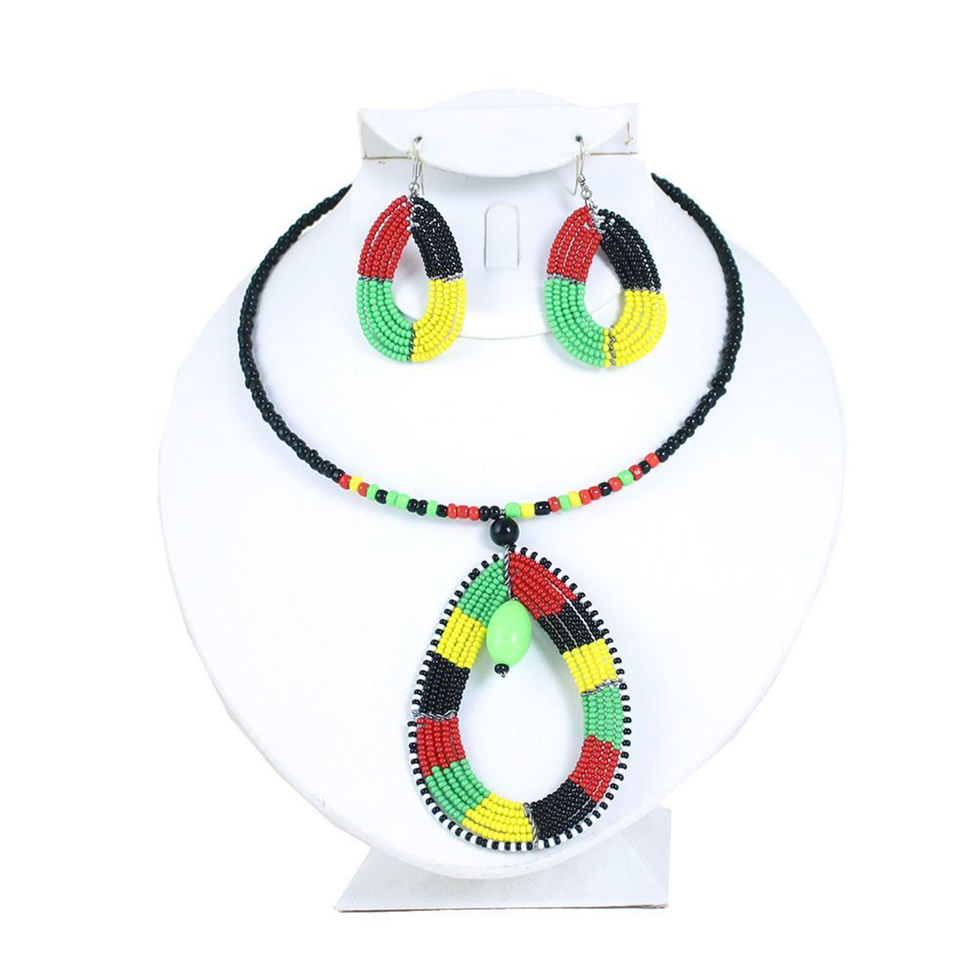 Picture of Pan African Choker & Earring Set