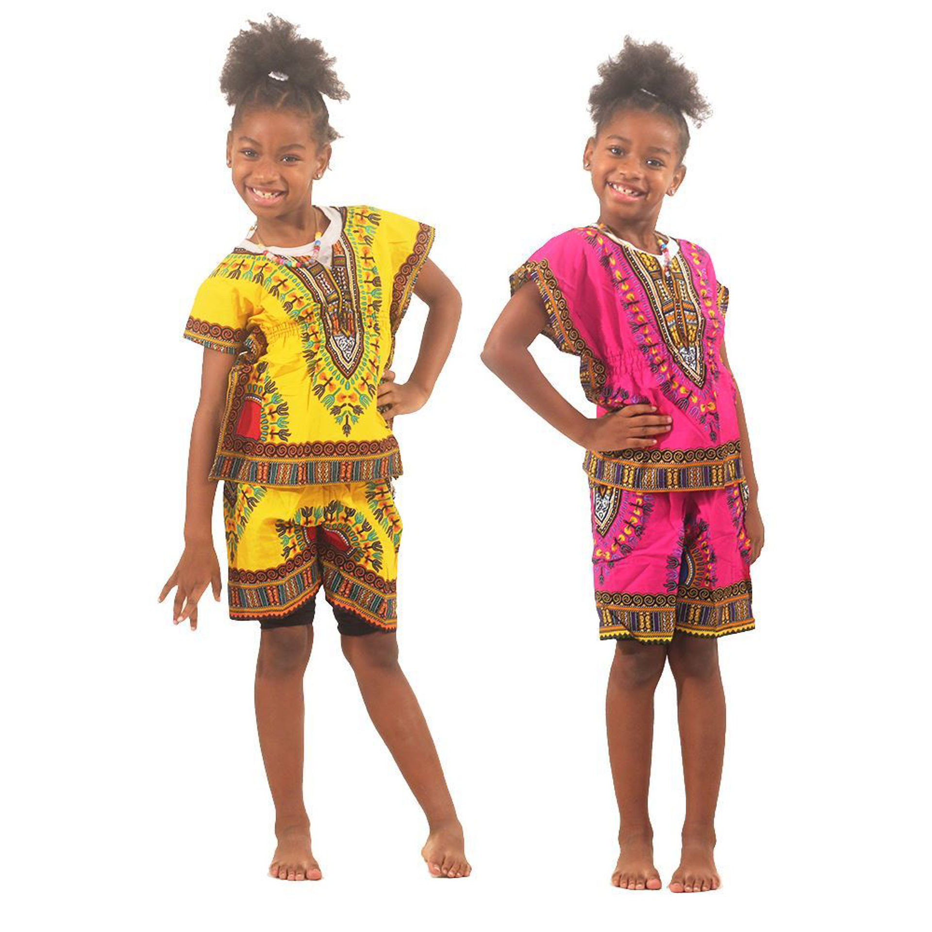 Picture of Children's Elastic Dashiki & Shorts