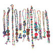 Picture of Set Of 12 Colorful Wood Bead Necklaces
