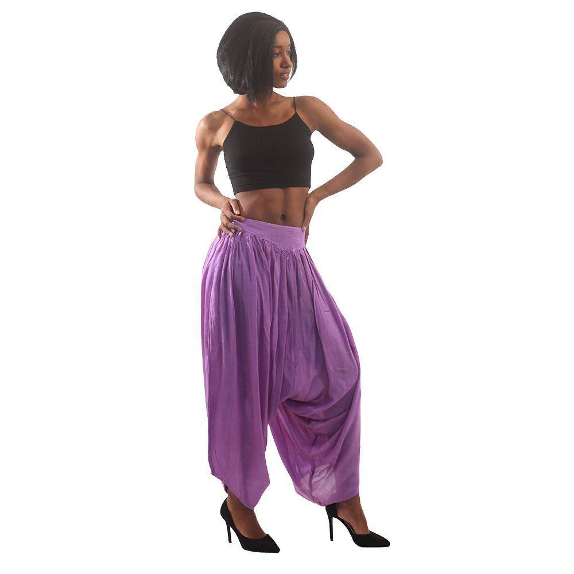 Picture of Purple Harem Pants