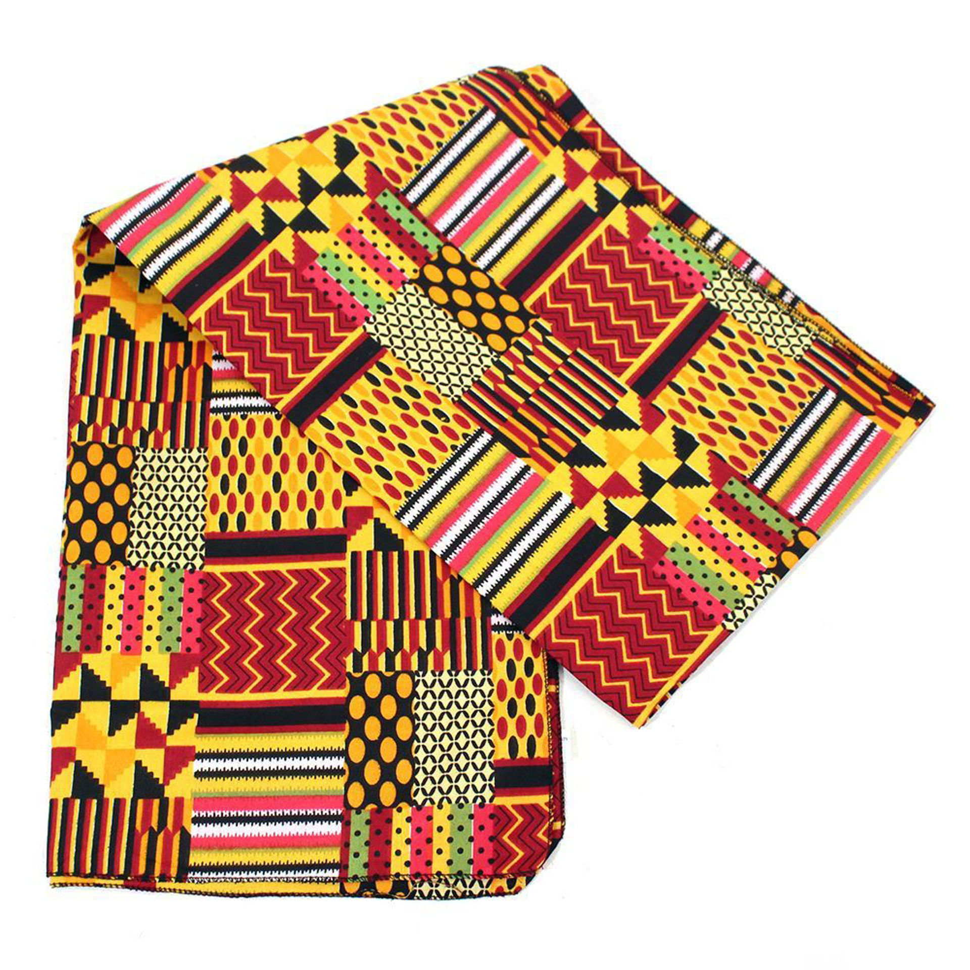 Picture of Kente Patchwork Headwrap