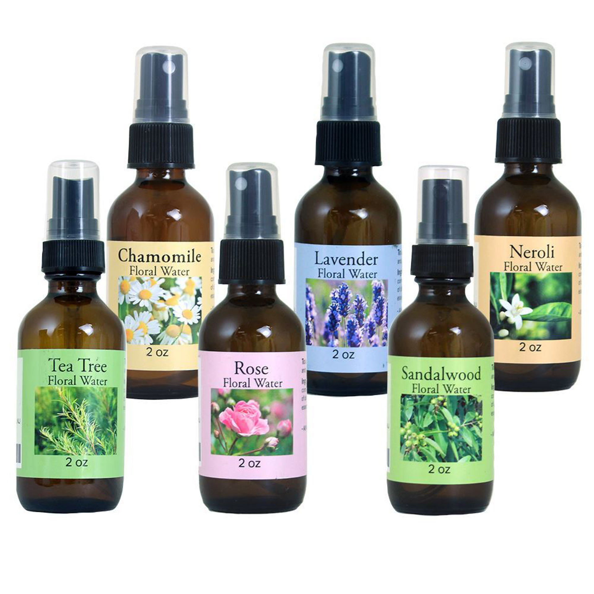 Picture of Set Of 6 Floral Waters