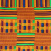 Picture of African-Made Kente #1 Fabric 3 Yards