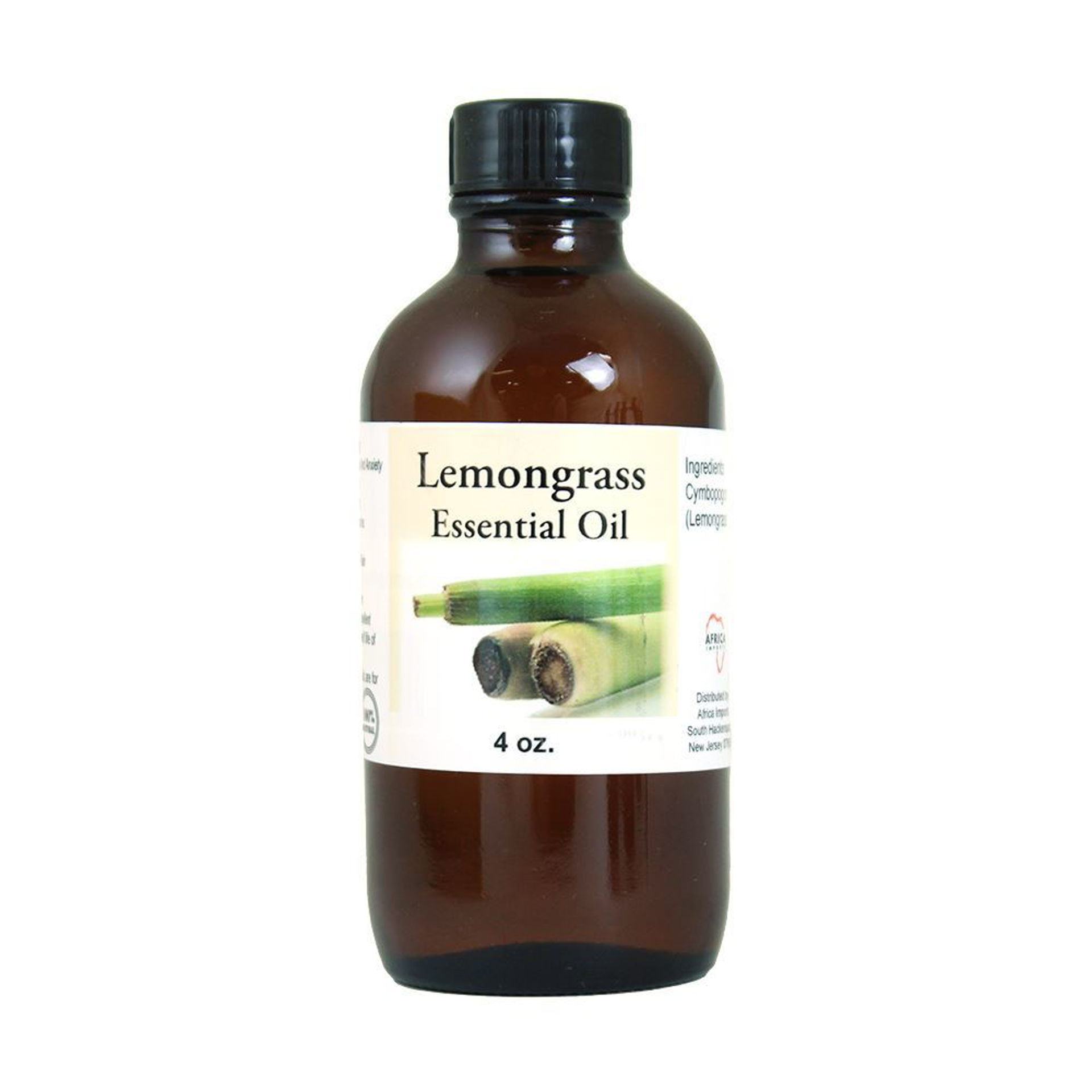 Picture of Lemongrass Essential Oil - 4 oz.