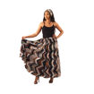 Picture of DAMAGED African Print Flared Skirt