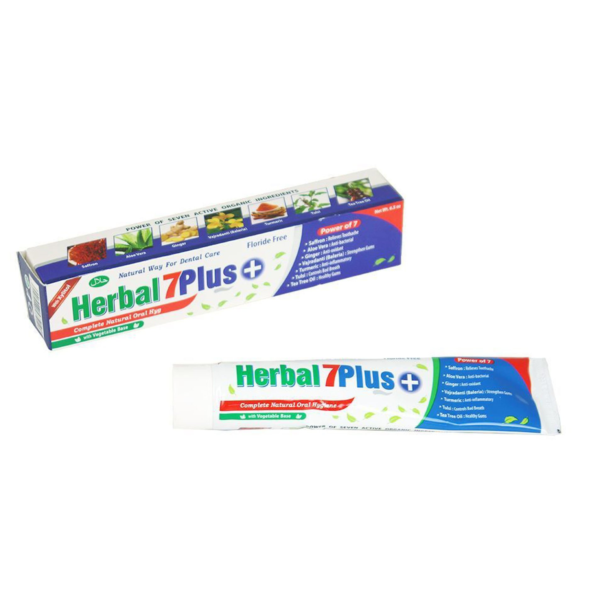 Picture of Herbal 7Plus+ Toothpaste