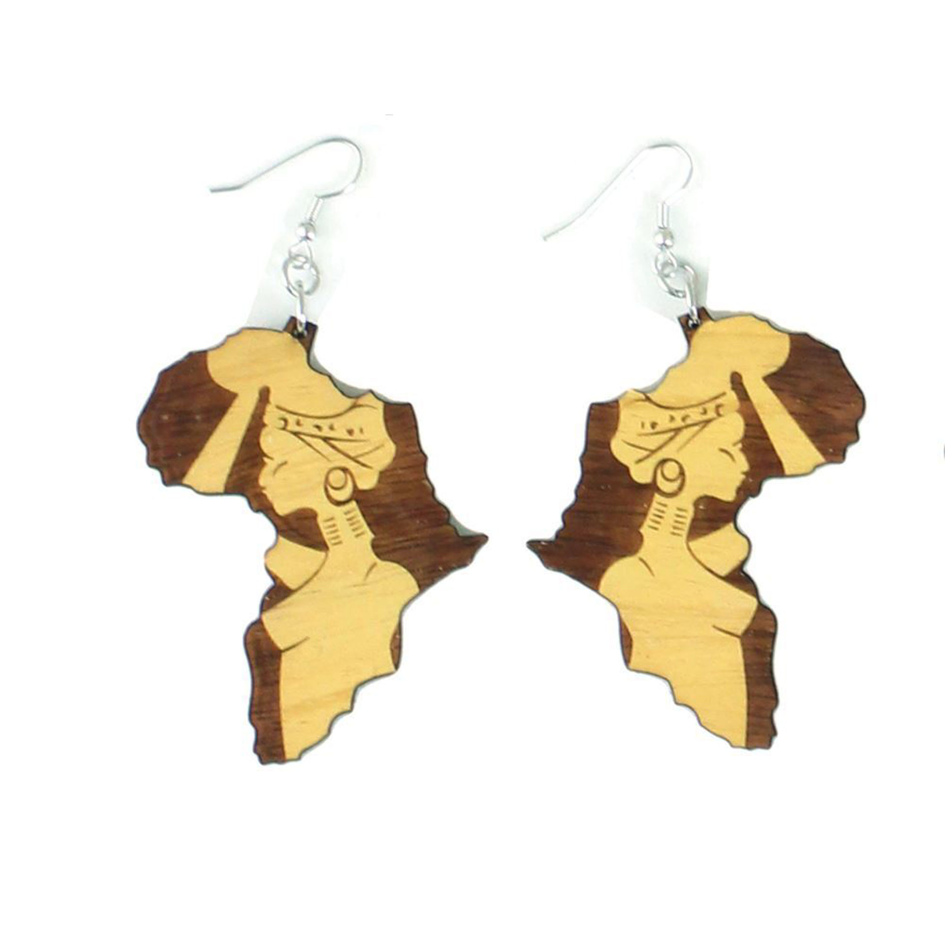 Picture of Set Of 6 Africa Big Mama Earrings