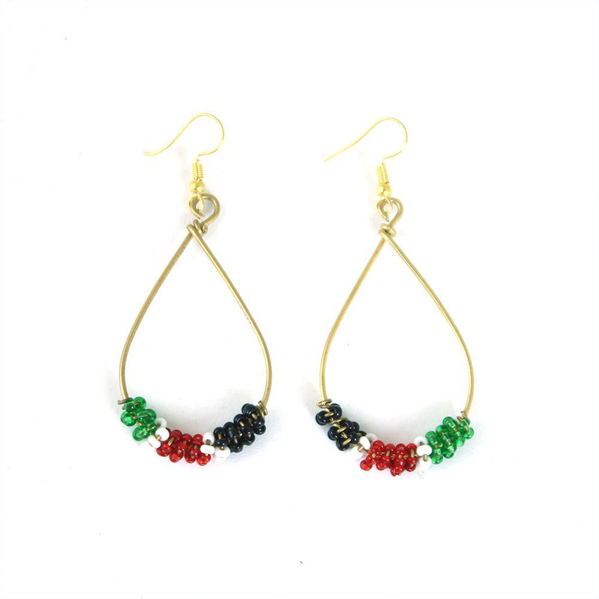 Picture of Colors Of Africa Tear Drop Earrings