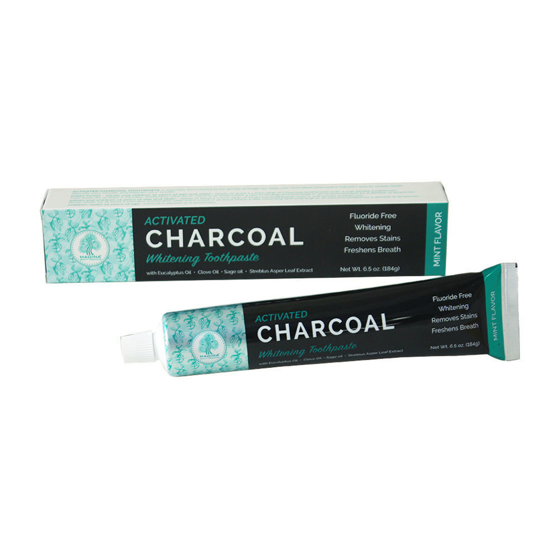 Picture of Activated Charcoal Whitening Toothpaste