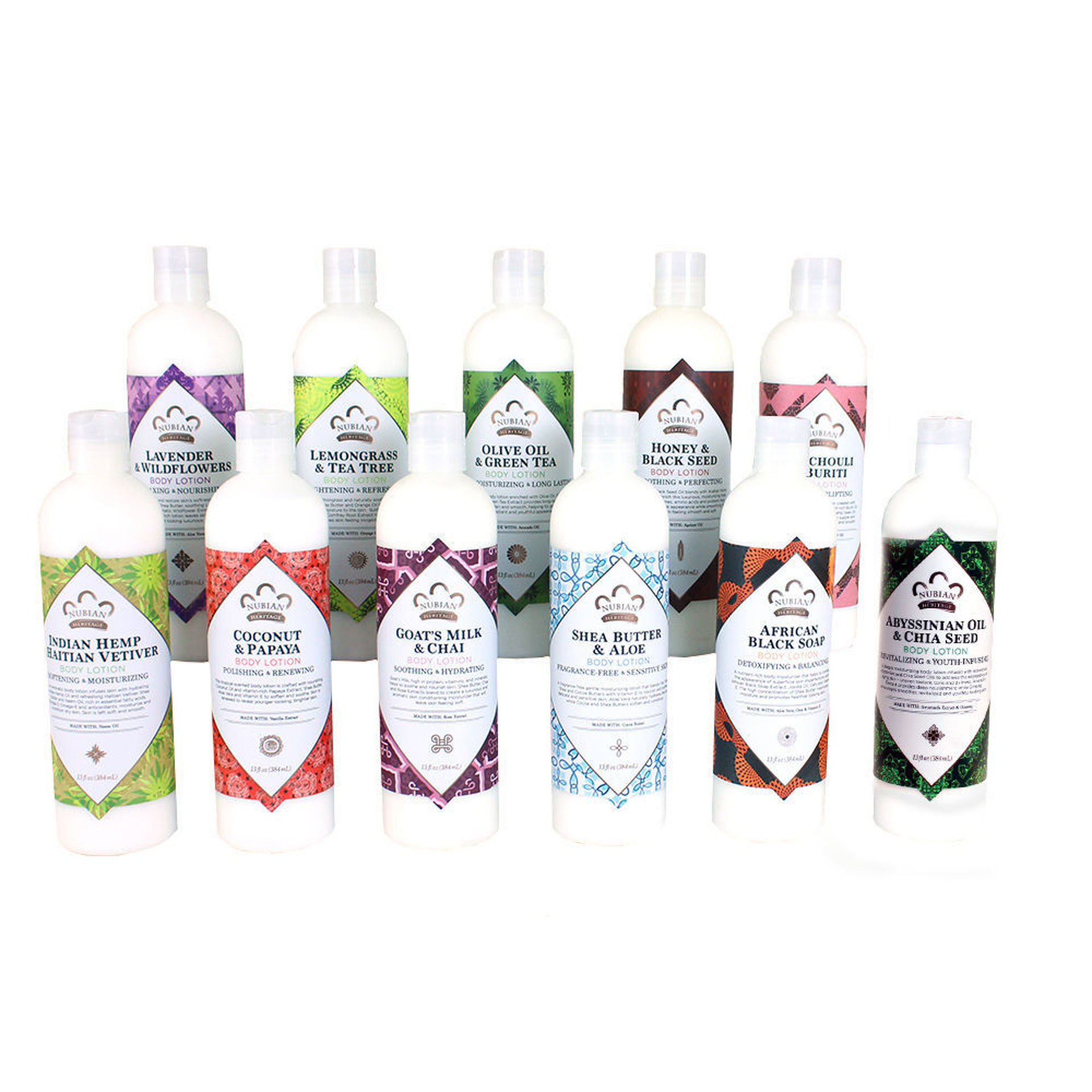Picture of Set Of 11 Nubian Heritage Lotions