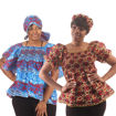 Picture of African Print Elastic Top & Headwrap