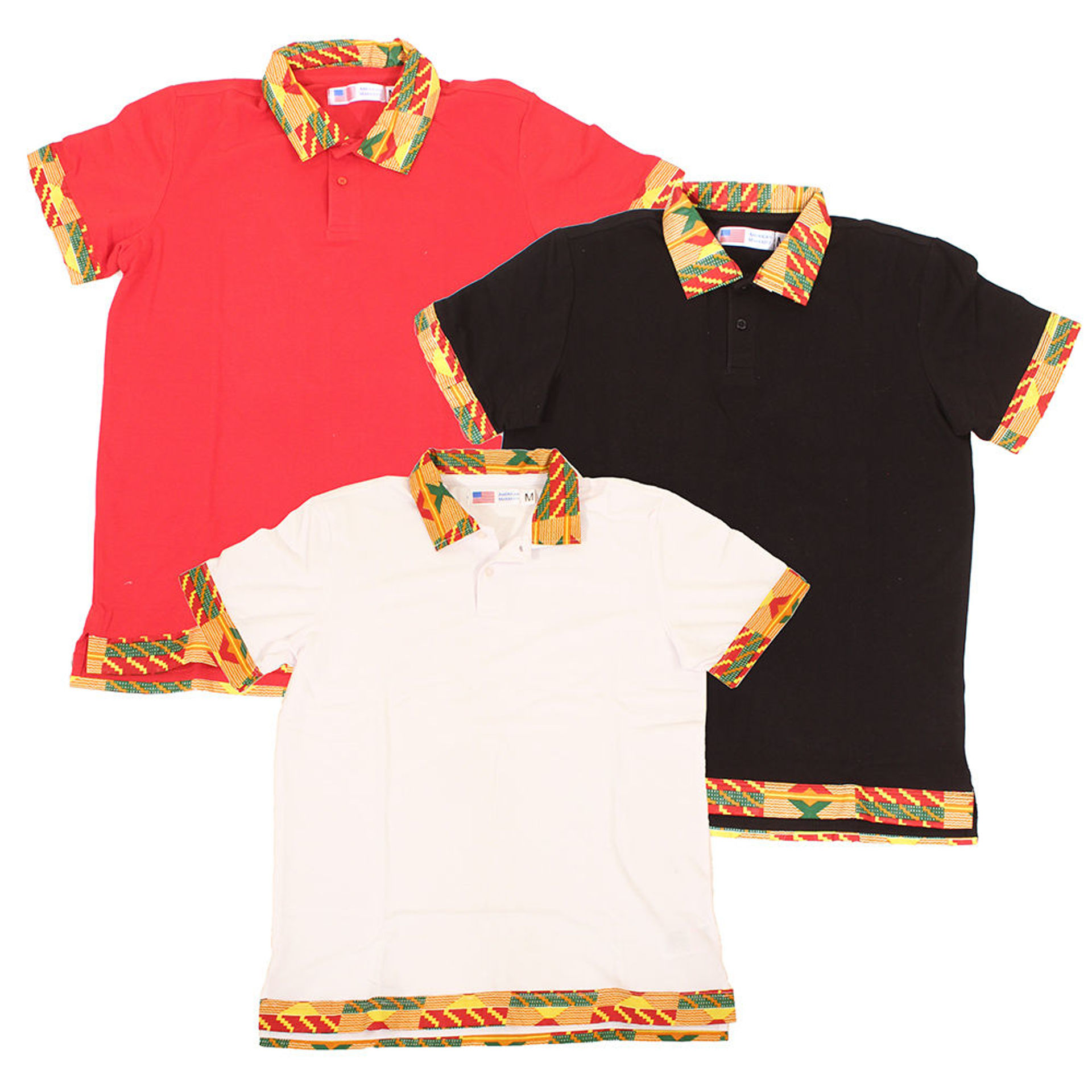 Picture of Kente Polo Shirt