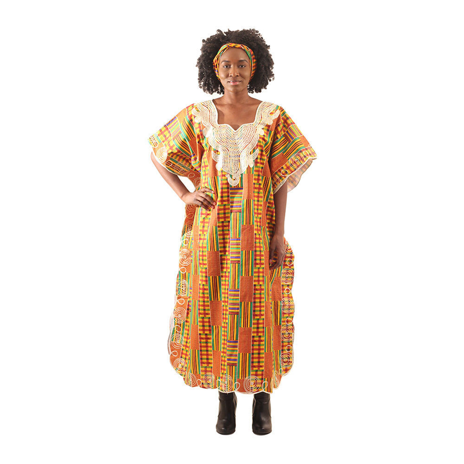 Picture of African-Made Kente Kaftan
