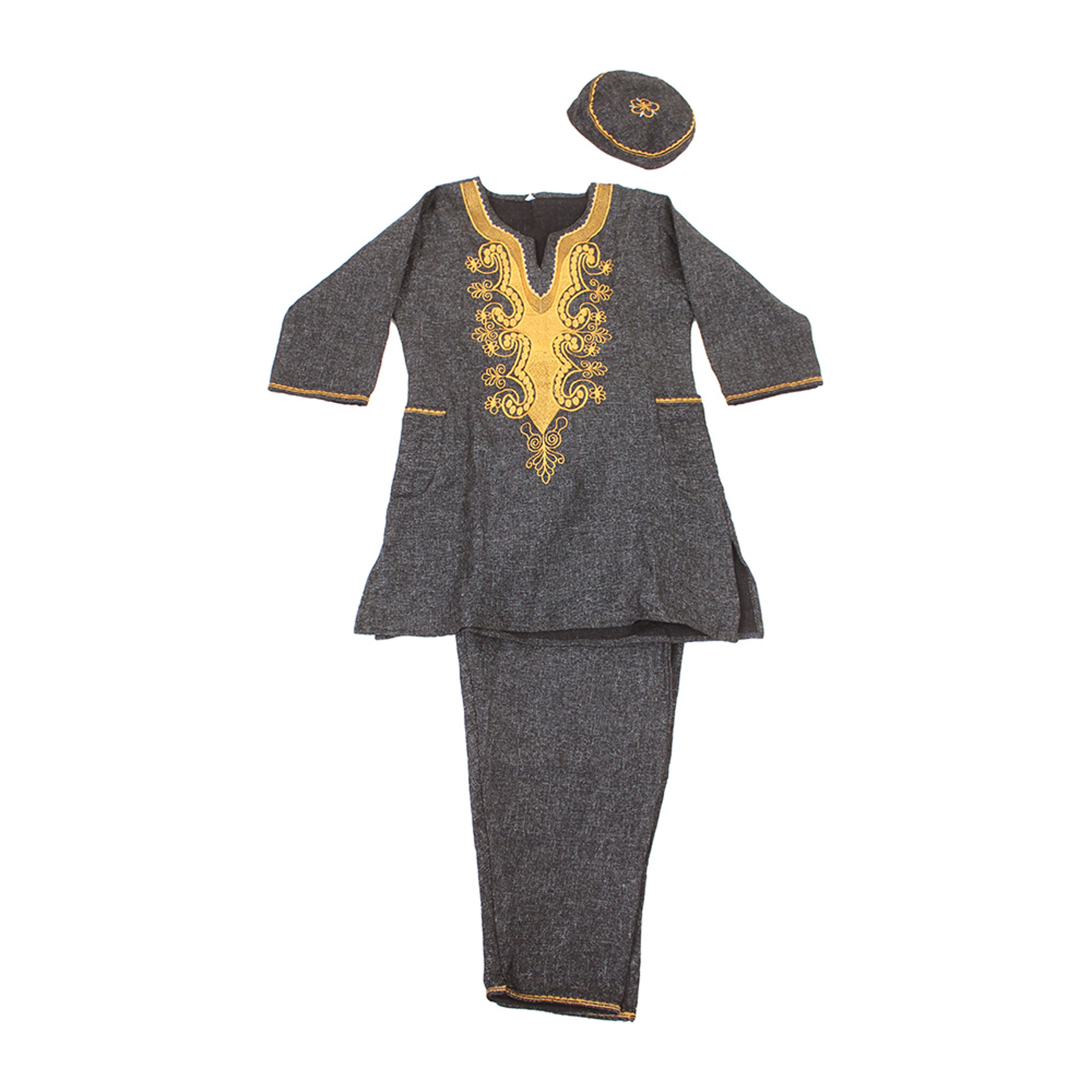 Picture of Embroidered Heavy Pant Set
