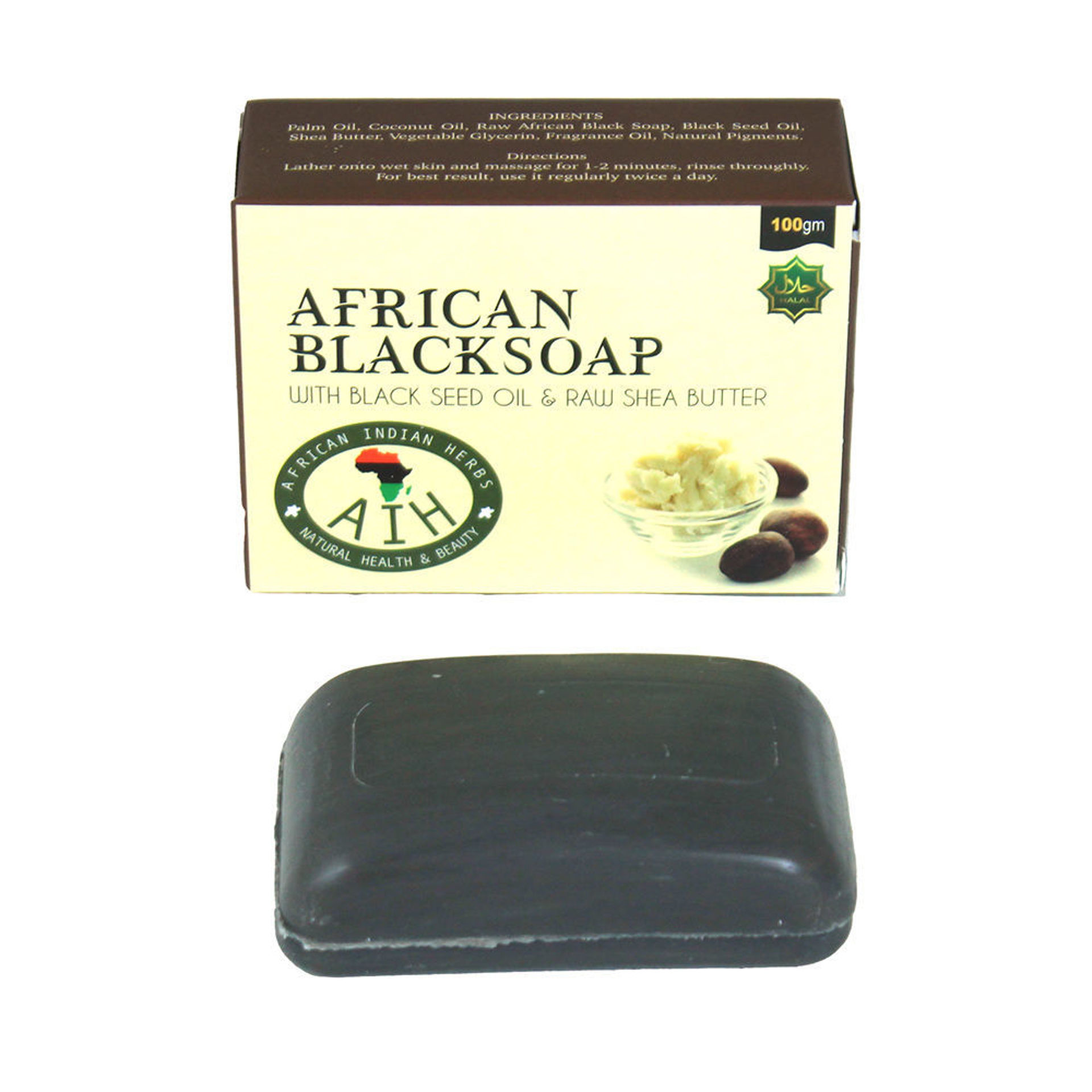 Picture of African Black Soap - 3.5 oz.