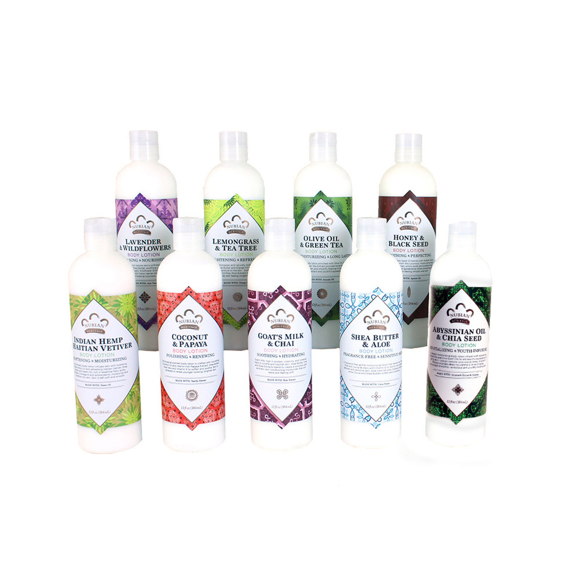 Picture of Set Of 9 Nubian Heritage Lotions