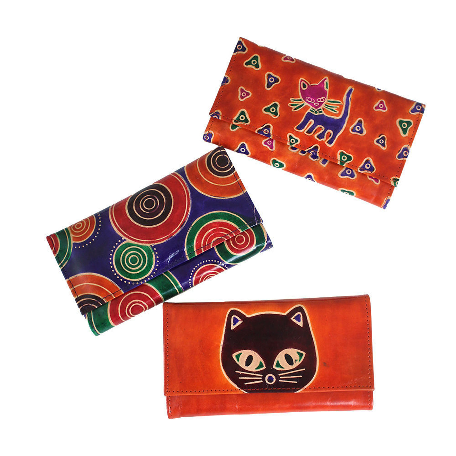 Picture of Leather Wallet: ASSORTED - SM
