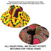 Picture of DAMAGED African Sun Hat - ASSORTED