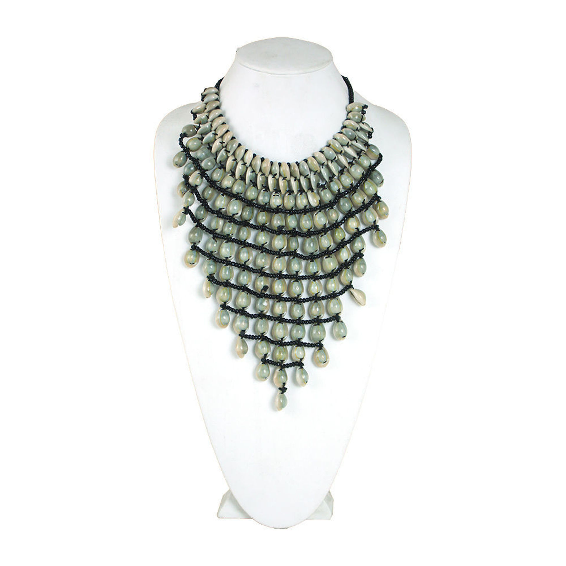 Picture of 12-Row Cowrie Shell Necklace