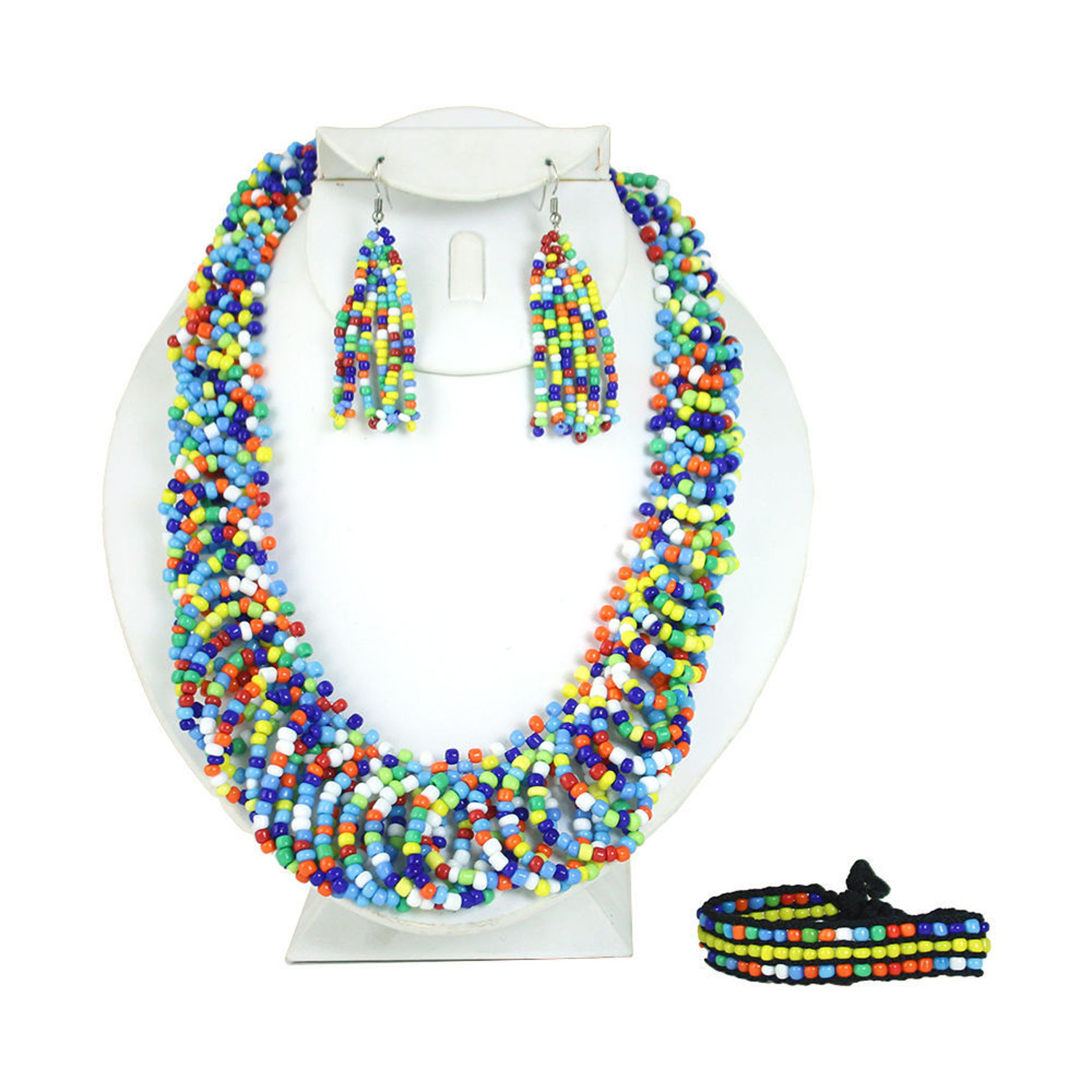Picture of Maasai Beaded Jewelry Set