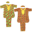 Picture of Embroidered Kente #2 Pant Set